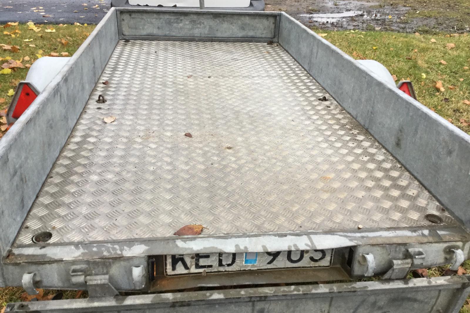 AKTIV-STABIL 750-12 Släpvagn med tippfunktion - 0 mil - Manuell - grå - 1979
