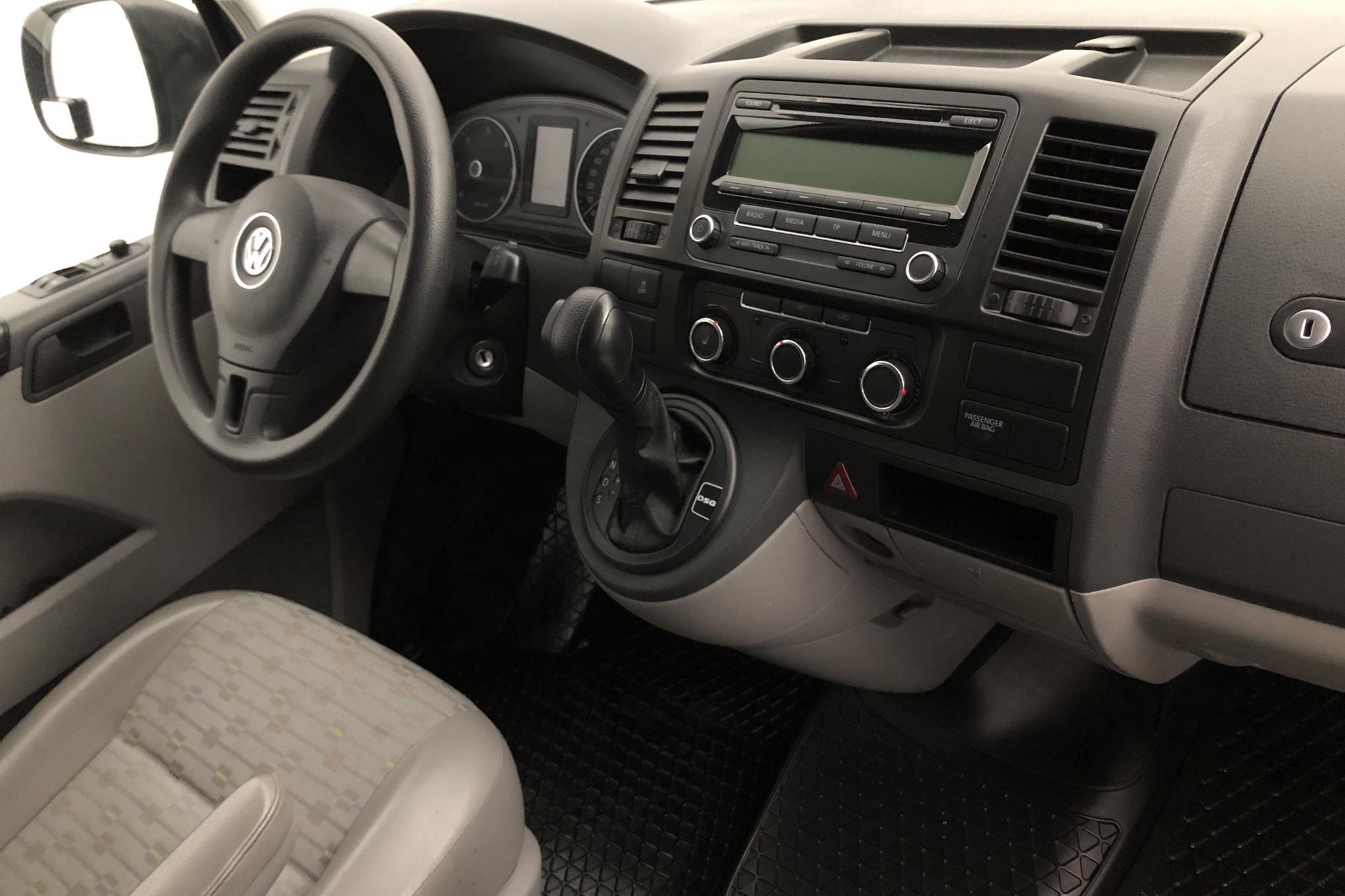 VW Transporter T5 2.0 TDI (140hk) - 15 514 mil - Automat - Dark Blue - 2011