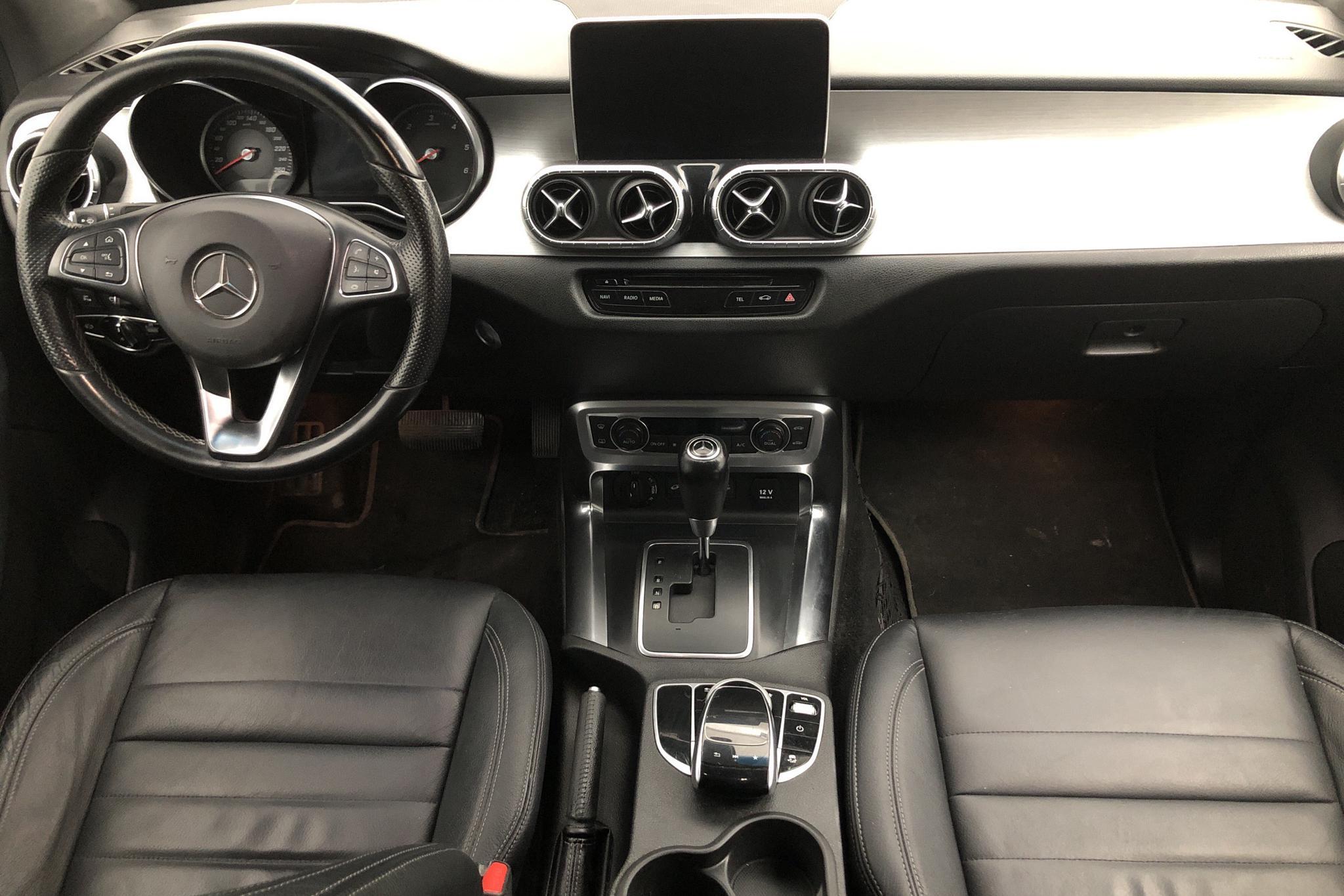 Mercedes X 250 d 4MATIC (190hk) - 9 219 mil - Automat - vit - 2018
