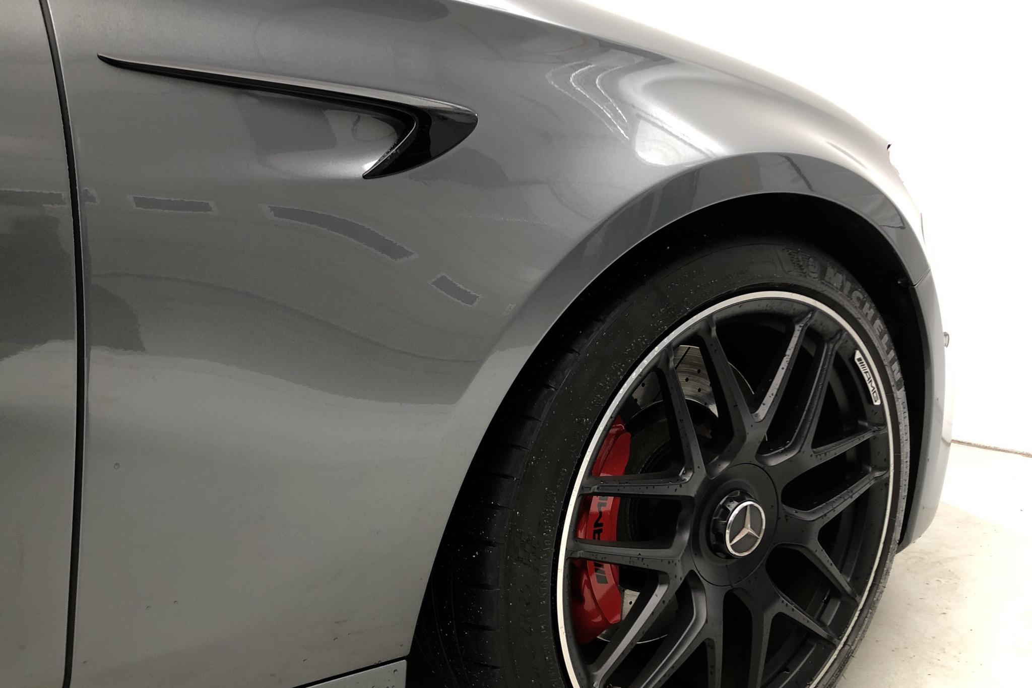 Mercedes E 63 S AMG 4MATIC Kombi S213 (612hk) - 3 563 mil - Automat - grå - 2019