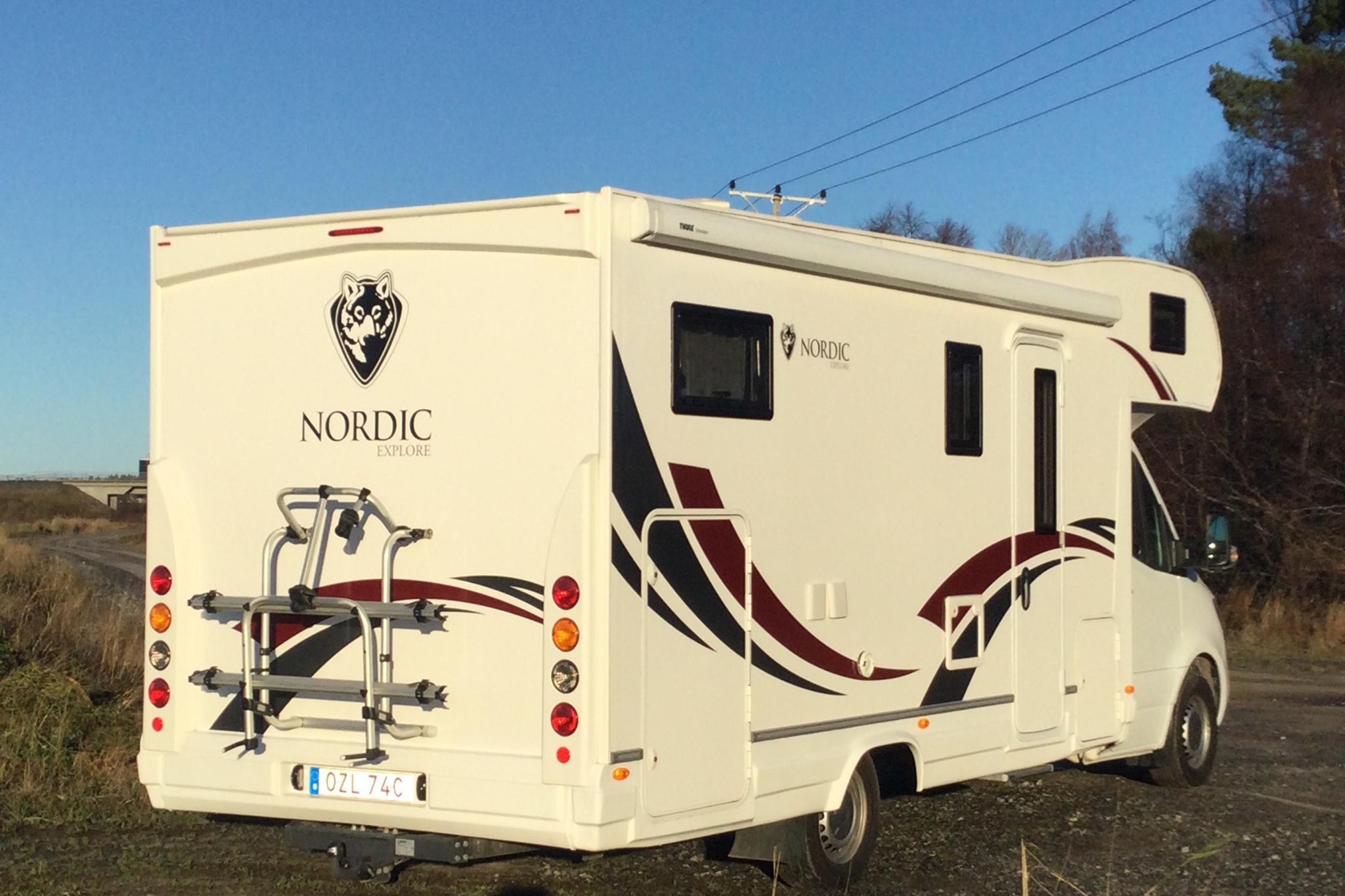 Mercedes-Benz NORDIC EXPLORE A Husbil - 6 890 km - Automatic - white - 2020