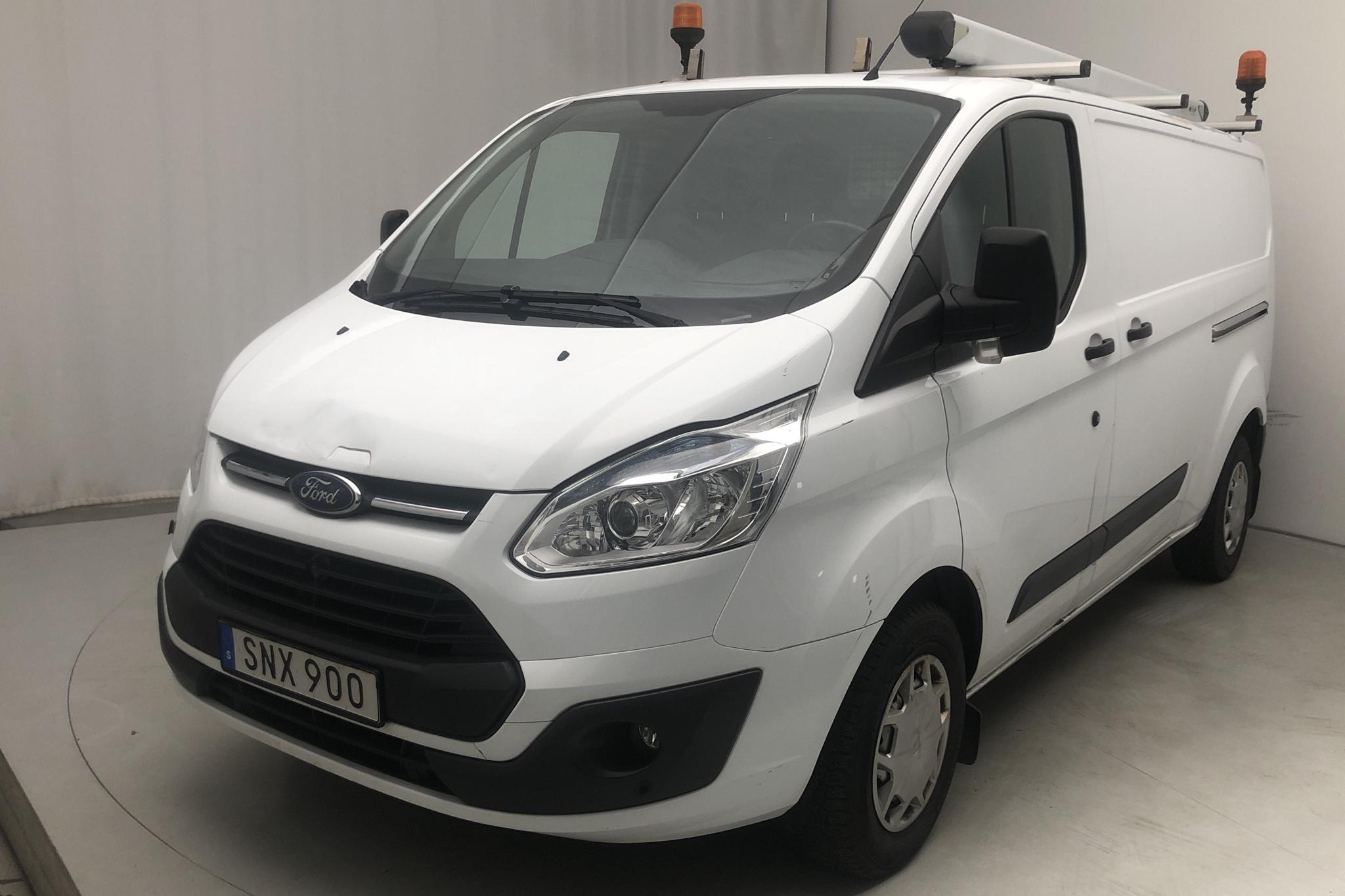 Ford Transit Custom 300 (125hk) - 106 910 km - Manual - white - 2015