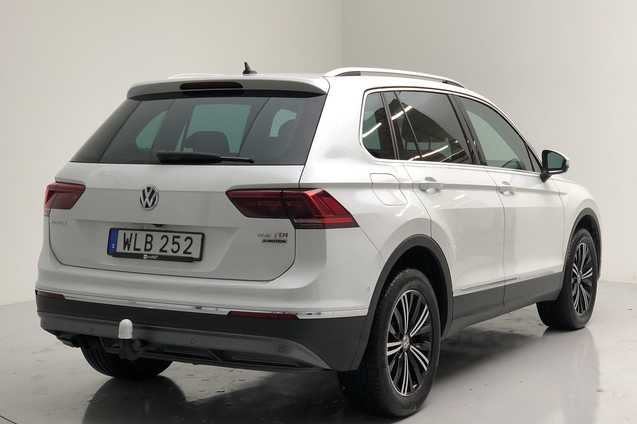 VW Tiguan 2.0 TDI 4MOTION (190hk) - 48 990 km - Automatic - white - 2018