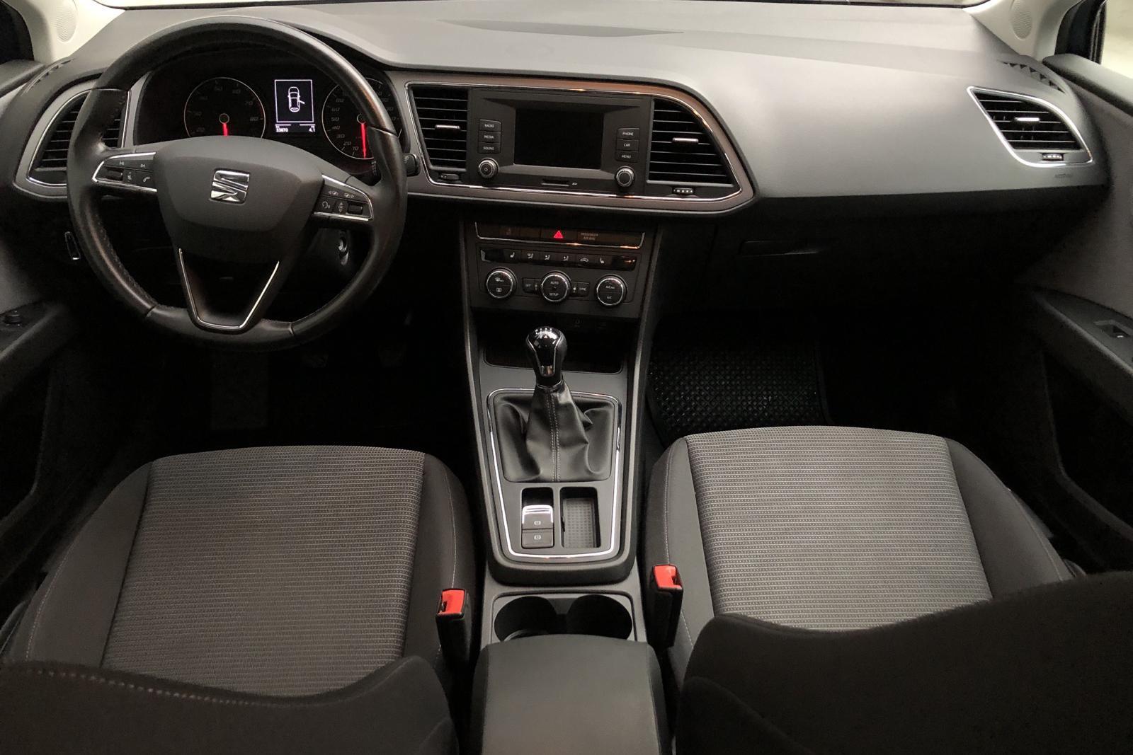 Seat Leon 1.2 TSI ST (110hk) - 33 860 km - Manual - blue - 2018