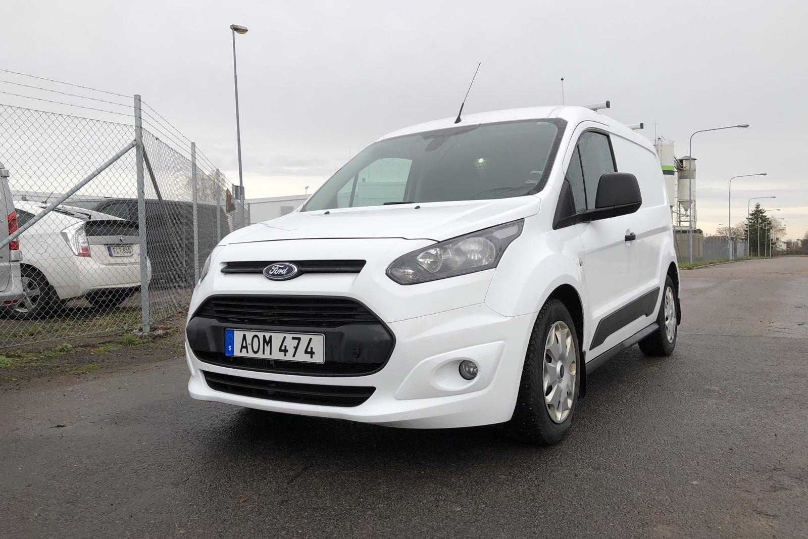 Ford Transit Connect 1.6 TDCi (95hk) - 71 600 km - Manual - white - 2015