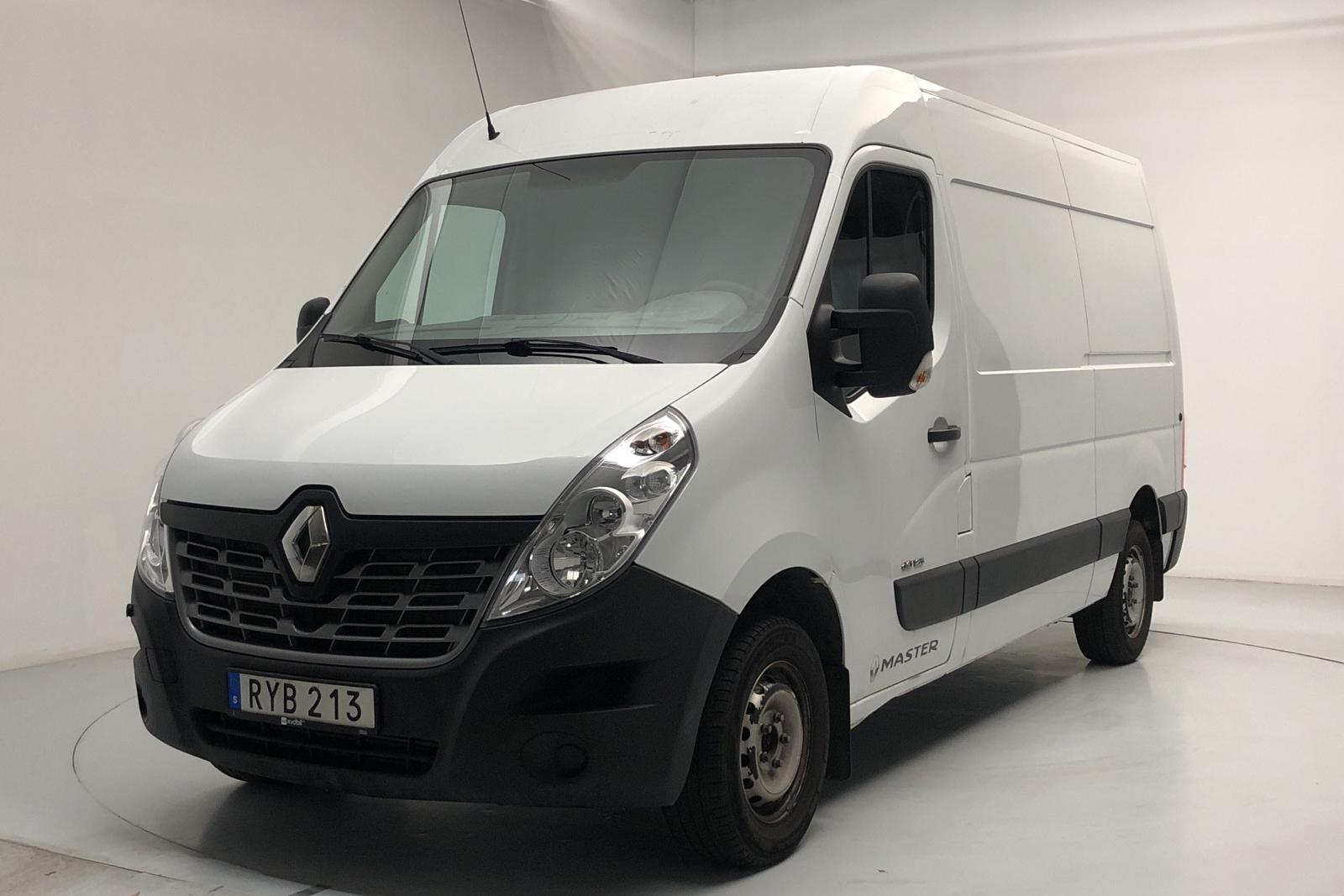 Renault Master 2.3 dCi FAP 2WD (125hk) - 6 006 mil - Manuell - vit - 2016