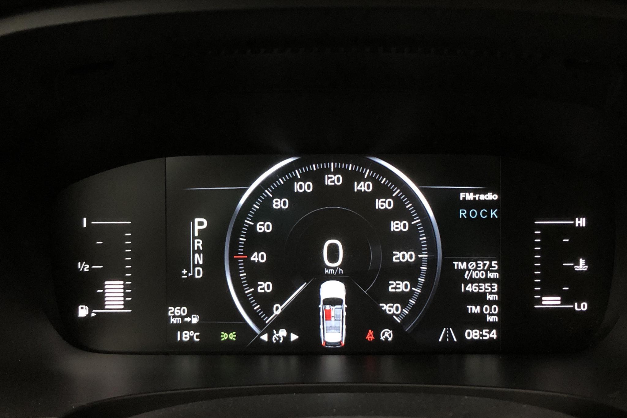 Volvo V90 D3 (150hk) - 14 635 mil - Automat - grå - 2018