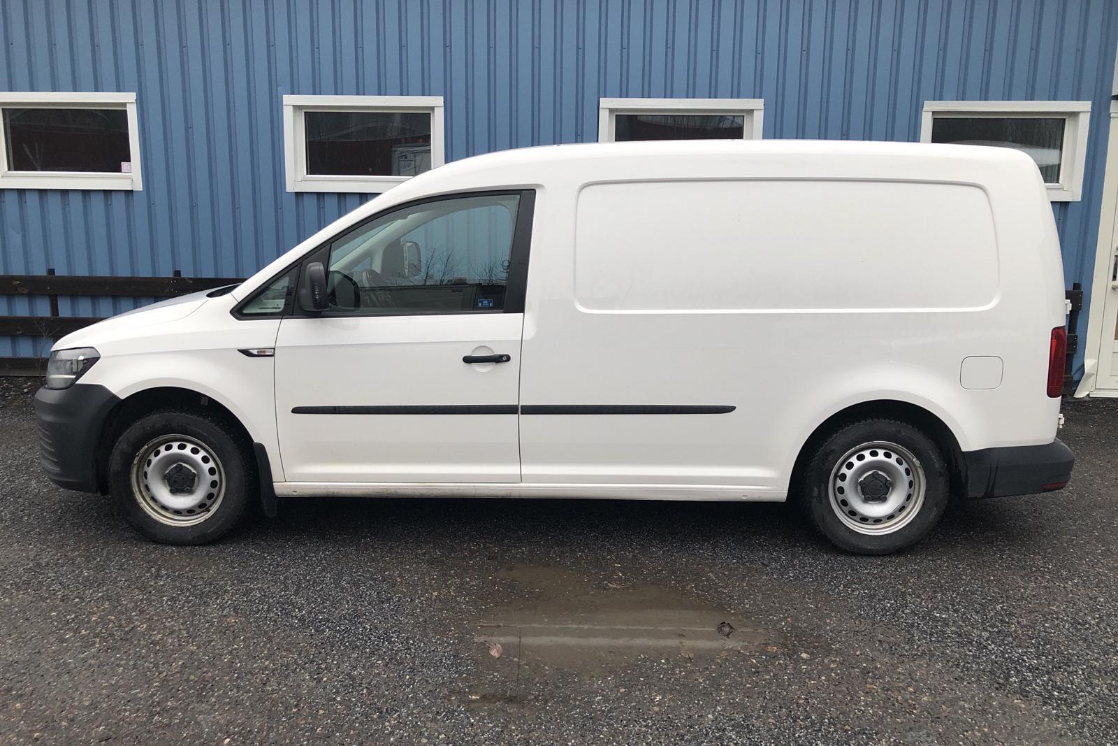 VW Caddy 2.0 TDI Maxi Skåp (102hk) - 12 215 mil - Manuell - vit - 2016