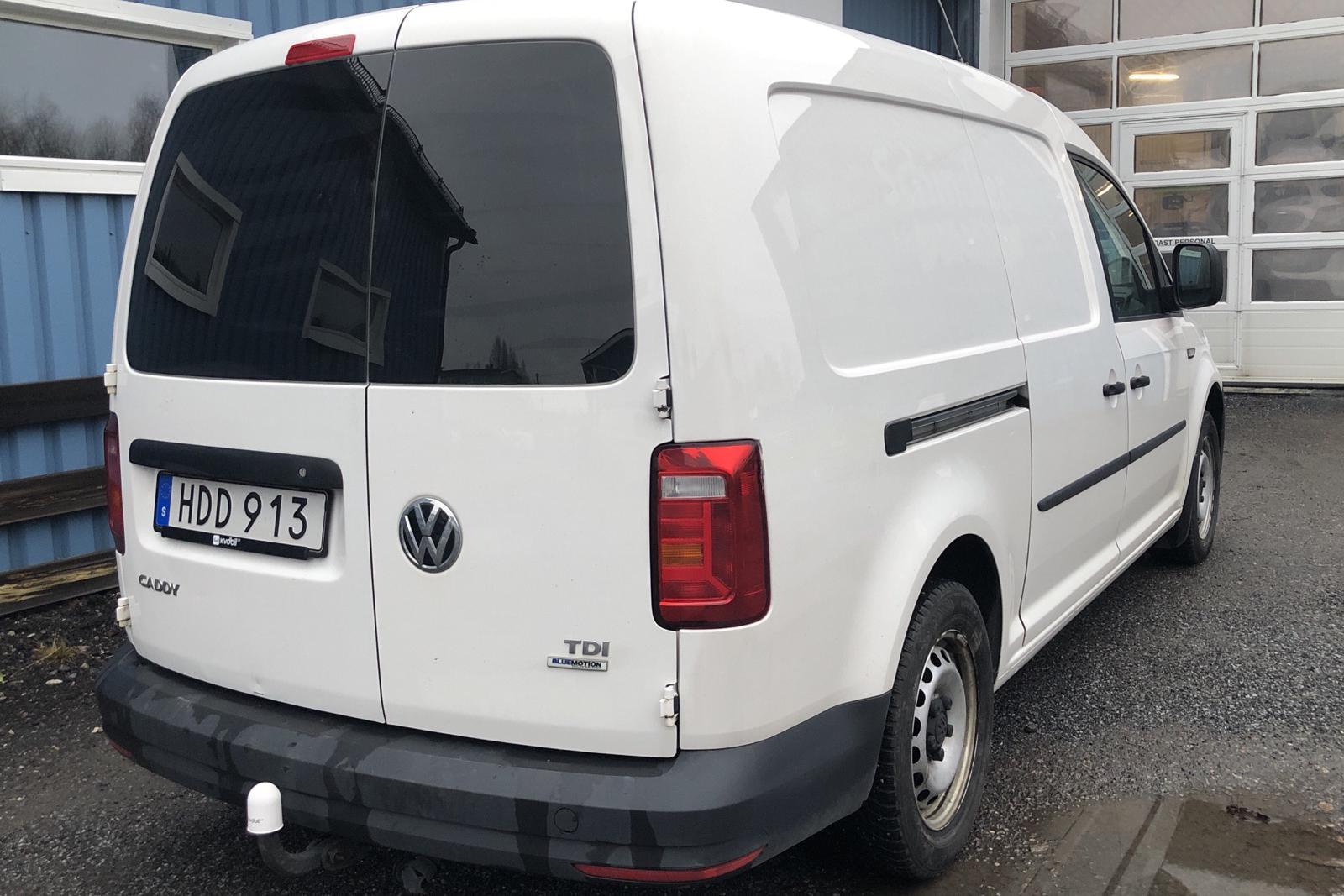 VW Caddy 2.0 TDI Maxi Skåp (102hk) - 122 150 km - Manual - white - 2016
