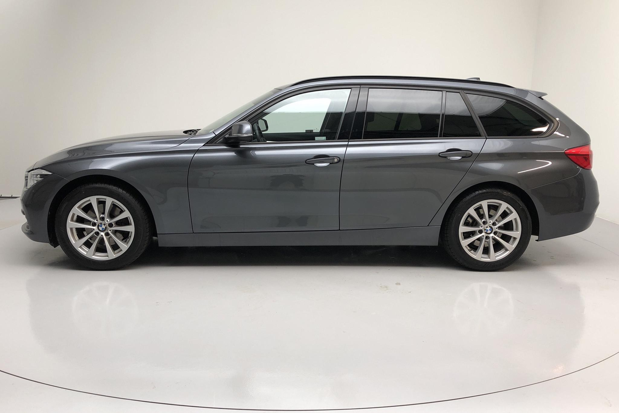 BMW 320d Touring, F31 (190hk) - 39 740 km - Automatic - gray - 2018