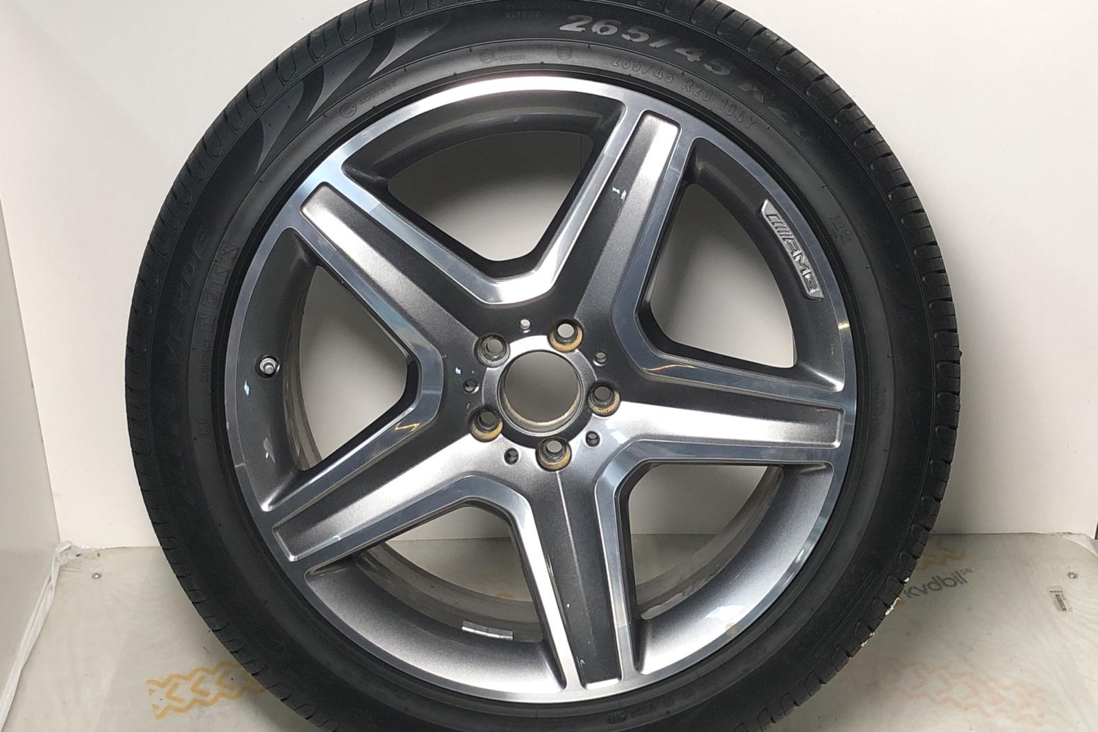 Mercedes GLE 350 d 4MATIC W166 (258hk) - 5 713 mil - Automat - svart - 2018