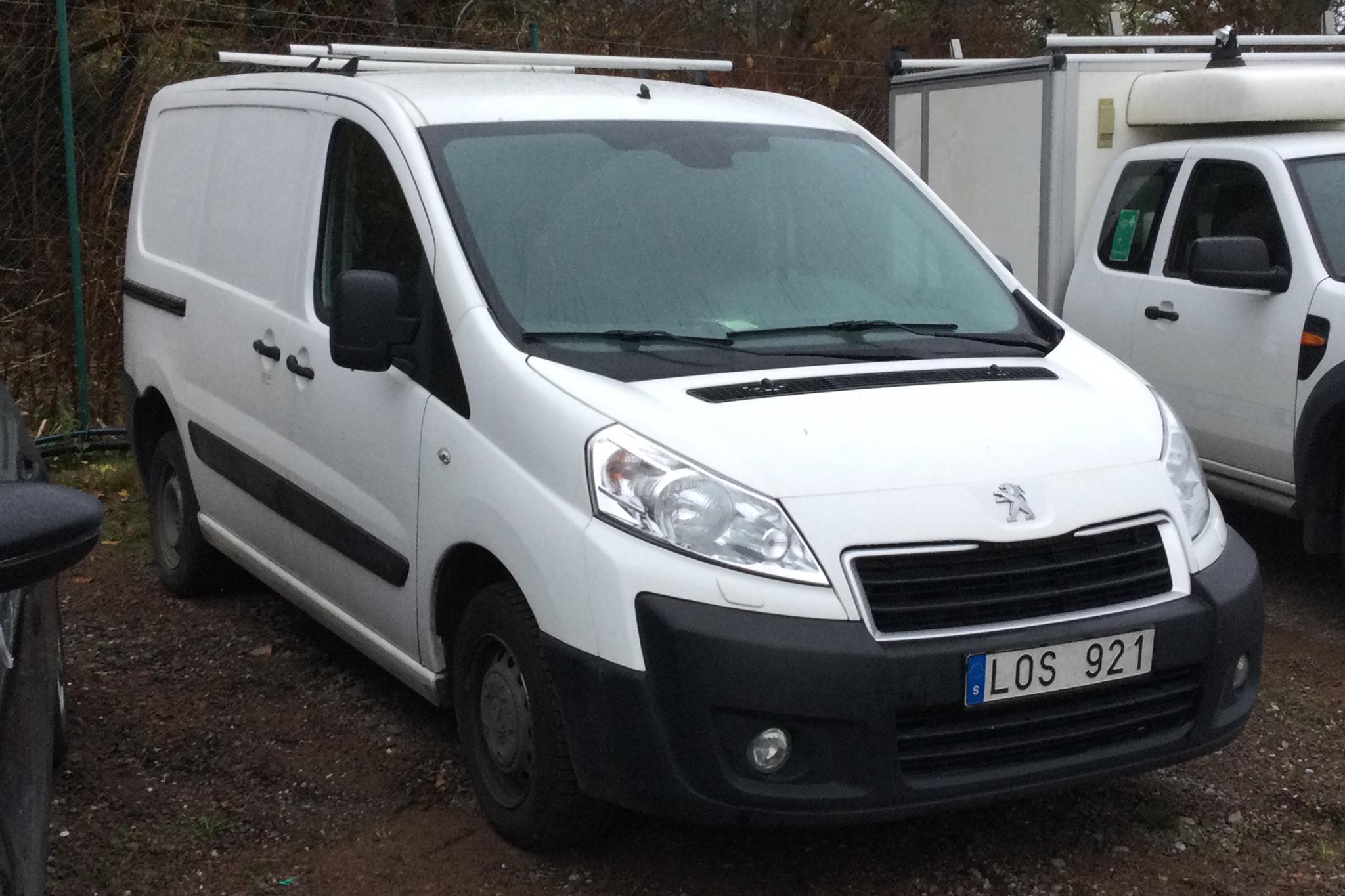 Peugeot Expert 1.6 HDI Skåp (90hk) - 0 km - Manual - white - 2013