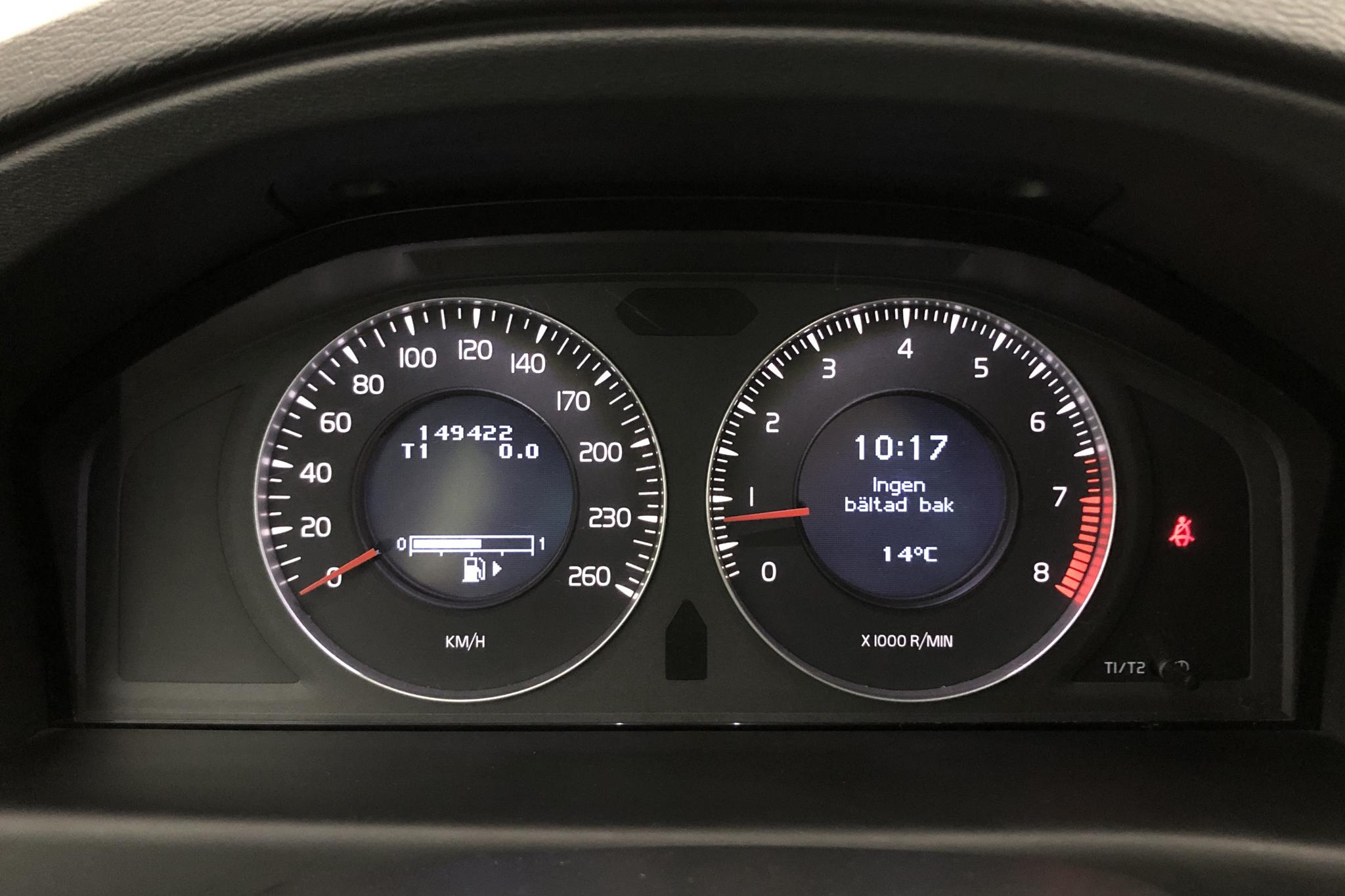 Volvo V70 II 2.0F (145hk) - 14 942 mil - Manuell - vit - 2010