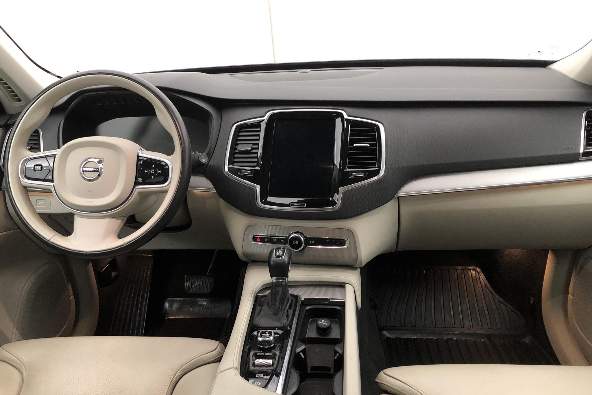 Volvo XC90 D5 AWD (235hk) - 4 894 mil - Automat - Dark Blue - 2017
