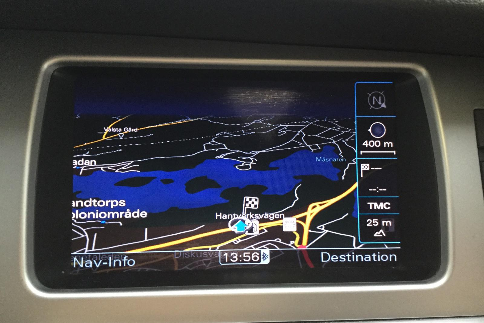 Audi Q7 3.0 TDI quattro (240hk) - 165 470 km - Automatic - Dark Blue - 2010
