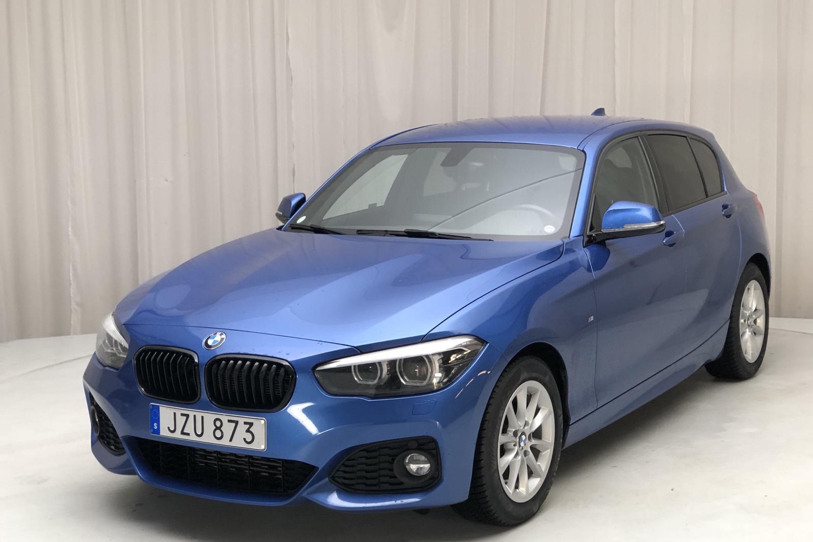 BMW 118d 5dr, F20 (150hk) - 66 200 km - Manual - blue - 2018