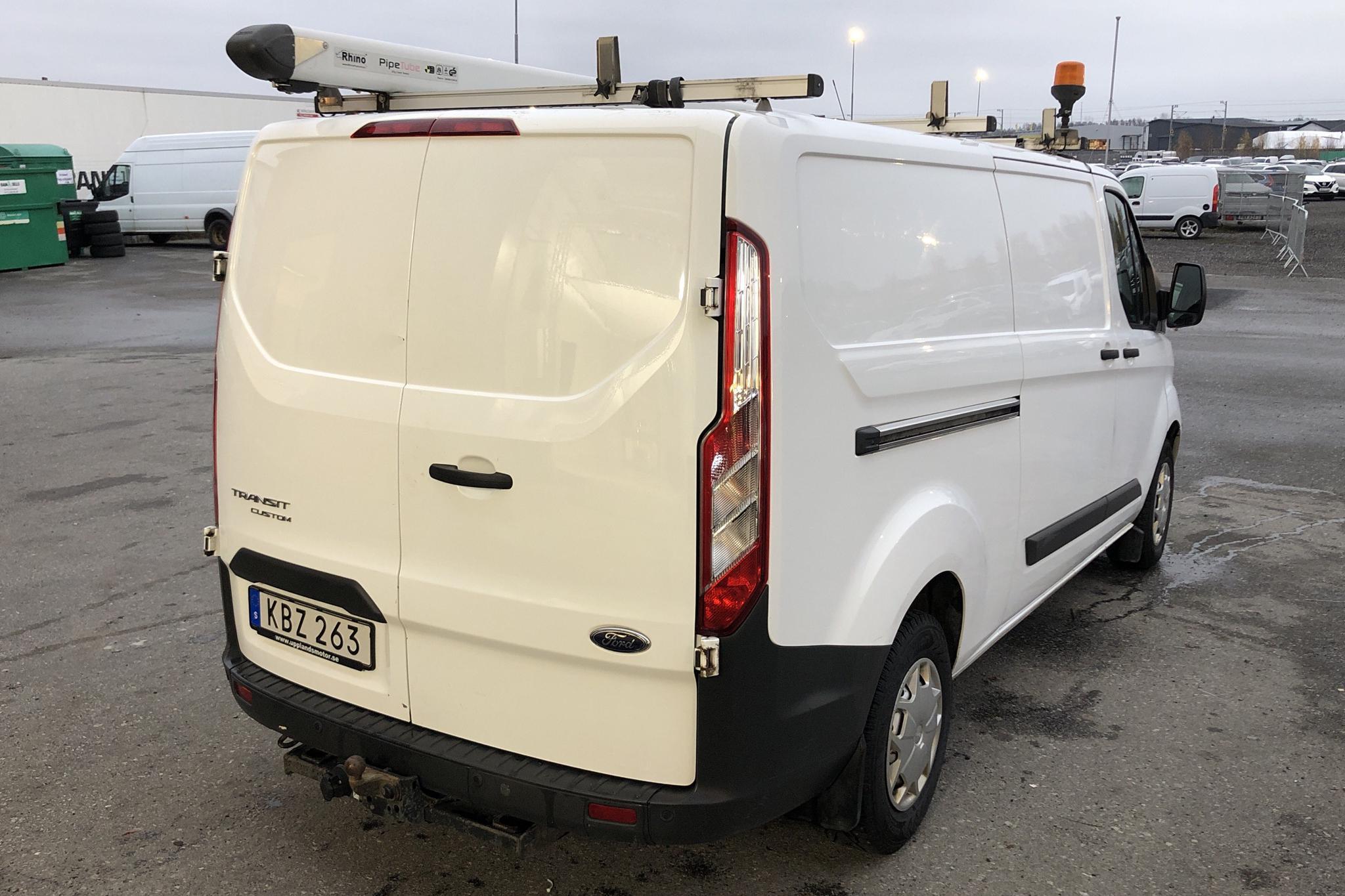 Ford Transit Custom 300 (125hk) - 9 283 mil - Manuell - vit - 2016