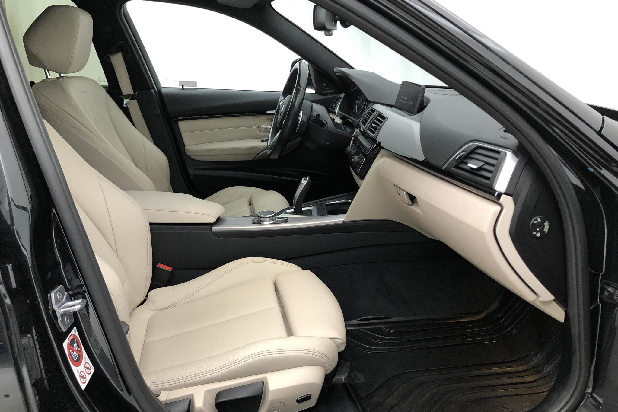 BMW 330e Sedan, F30 (252hk) - 27 250 km - Automatic - black - 2017