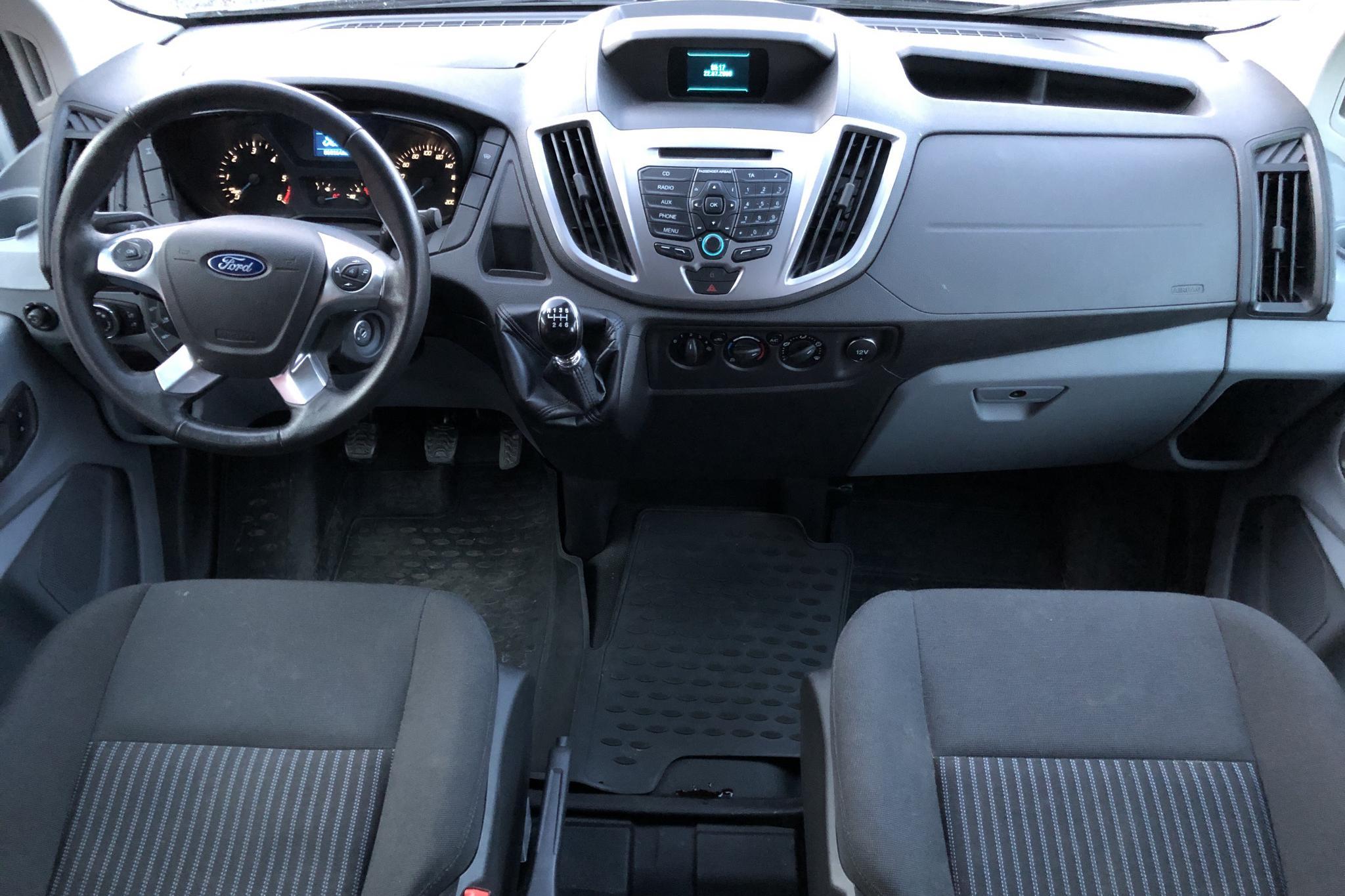 Ford Transit Chassi 350 2.2 TDCi AWD (125hk) - 6 815 mil - Manuell - vit - 2015