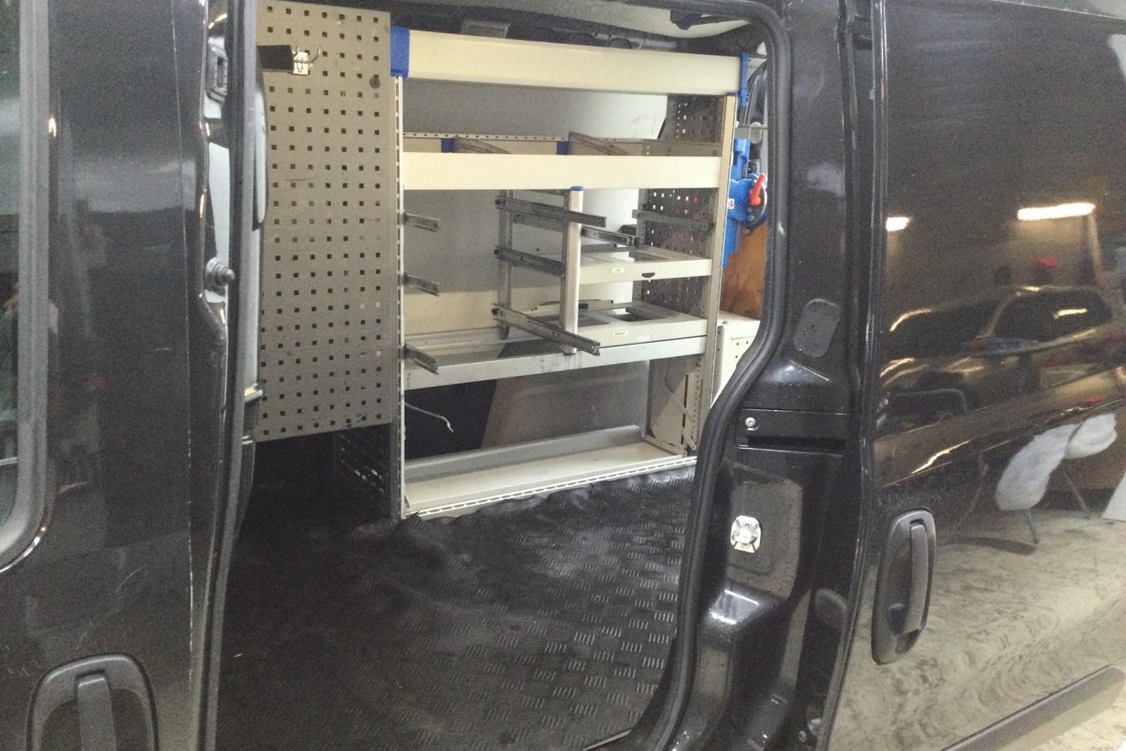 Fiat Doblo Cargo 1.4 CNG (95hk) - 55 320 km - Manual - black - 2014