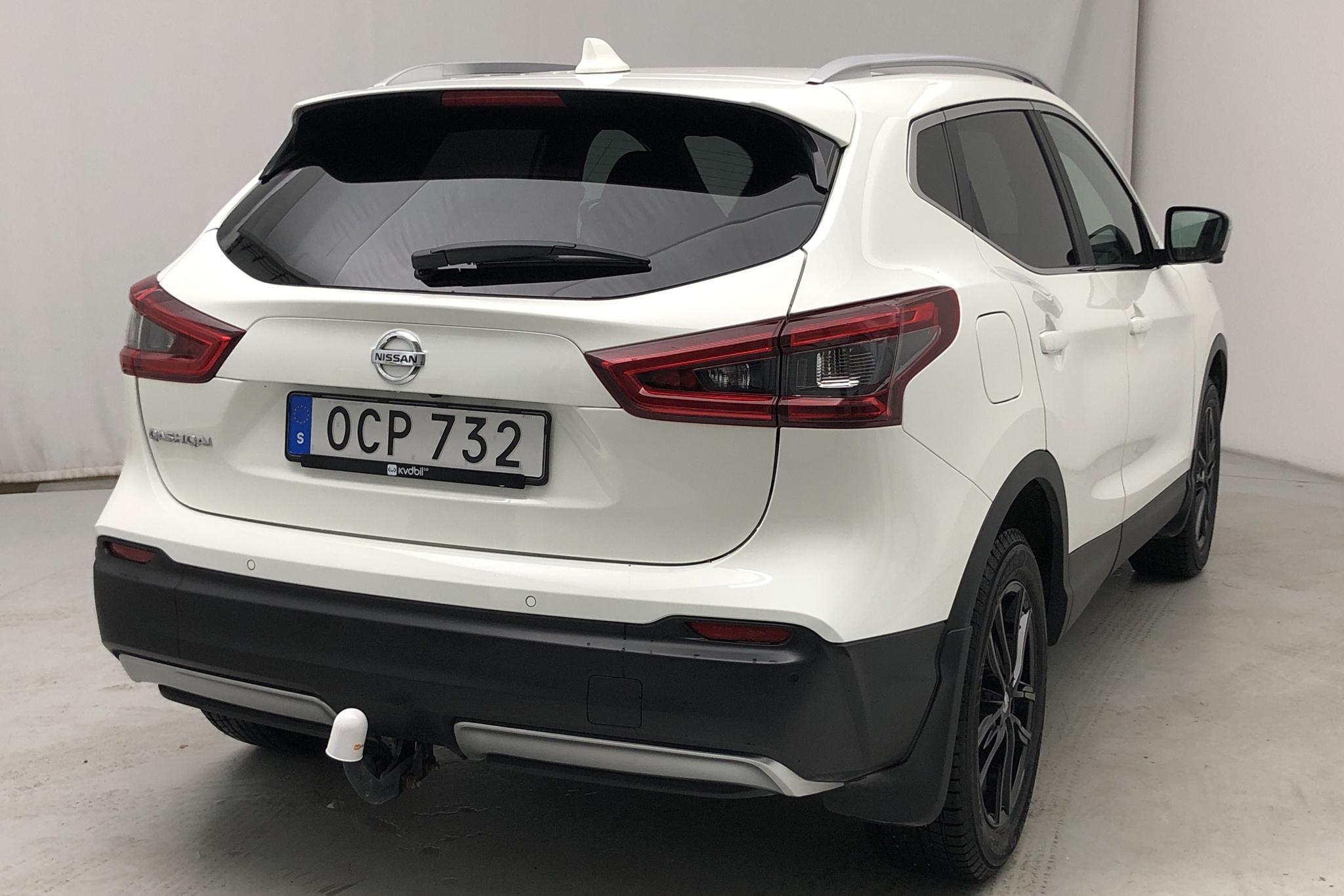 Nissan Qashqai 1.3 DIG-T (140hk) - 6 290 km - Manual - white - 2019