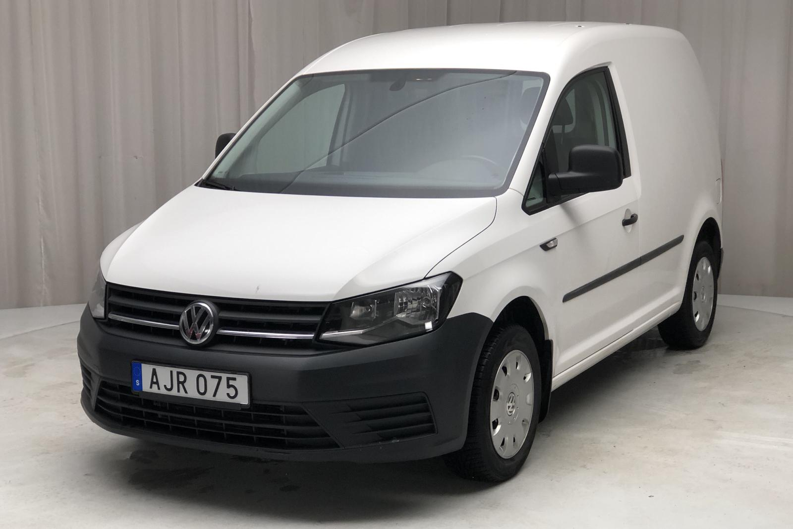 VW Caddy 2.0 TDI Skåp (75hk) - 169 320 km - Manual - white - 2015
