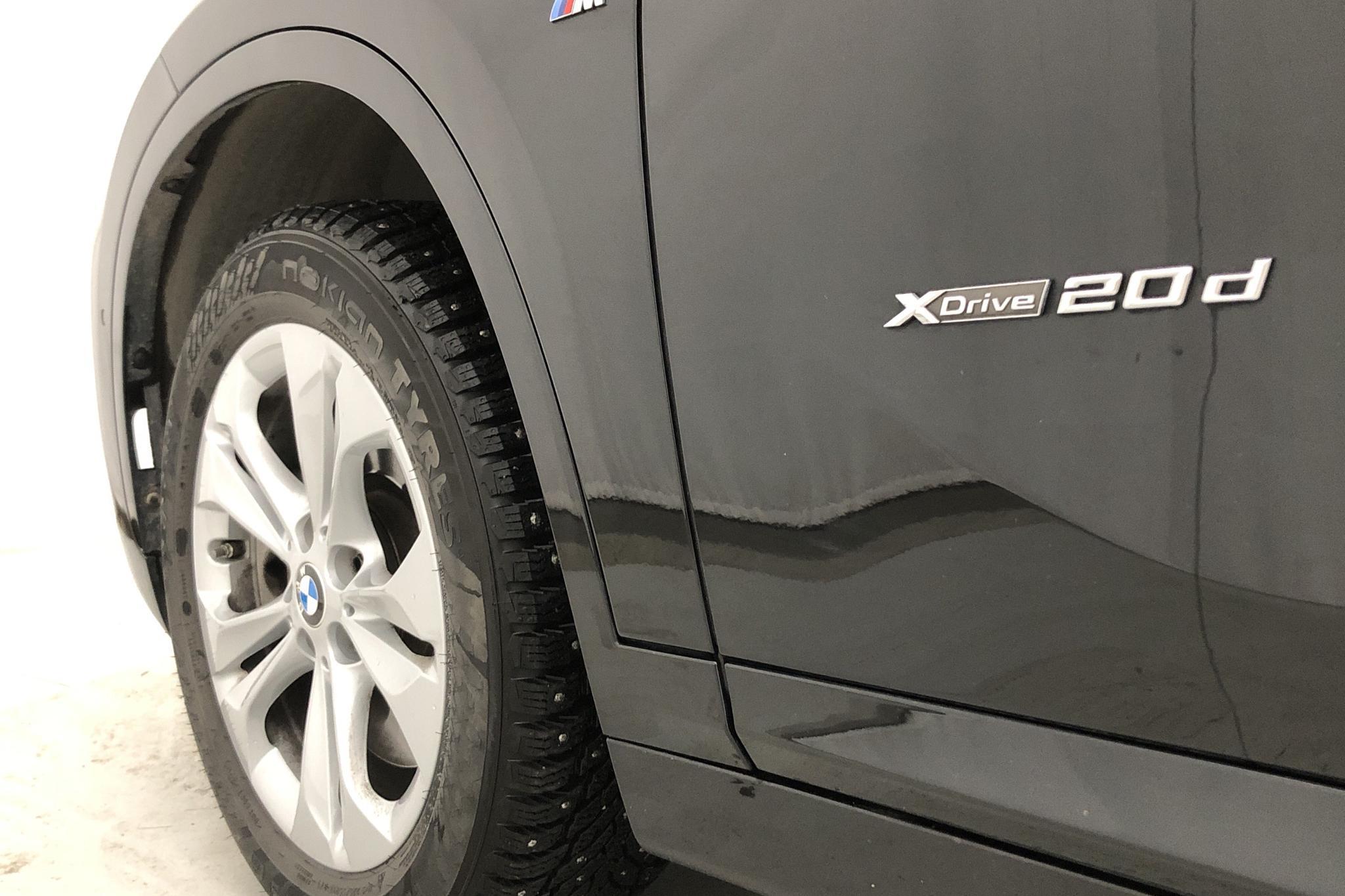 BMW X1 xDrive20d, F48 (190hk) - 3 886 mil - Automat - svart - 2017