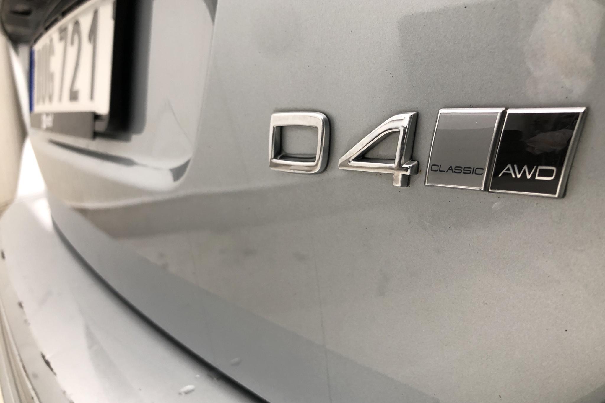 Volvo XC60 D4 AWD (190hk) - 5 600 mil - Automat - silver - 2017