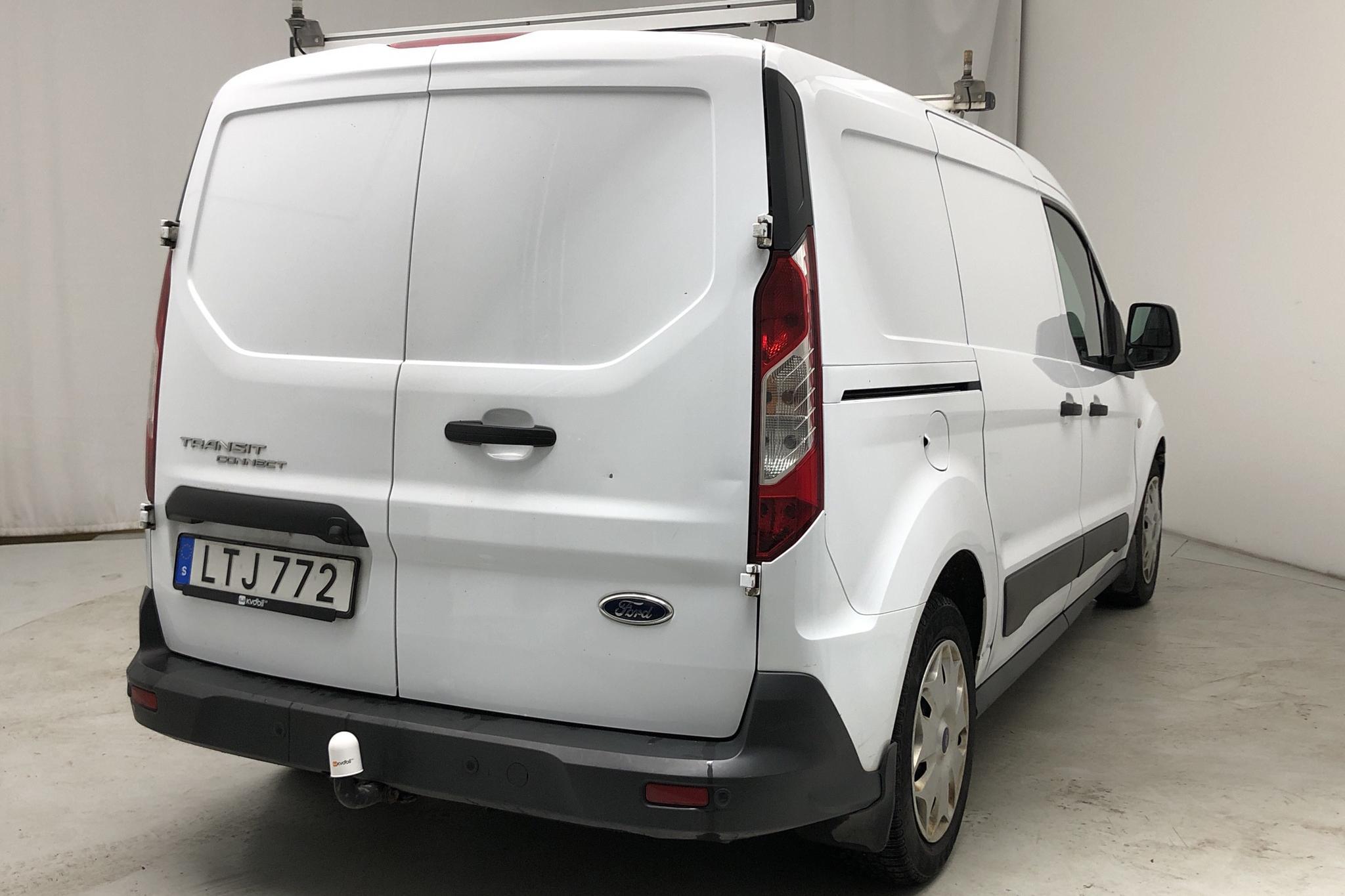 Ford Transit Connect 1.6 TDCi (95hk) - 114 800 km - Manual - white - 2015