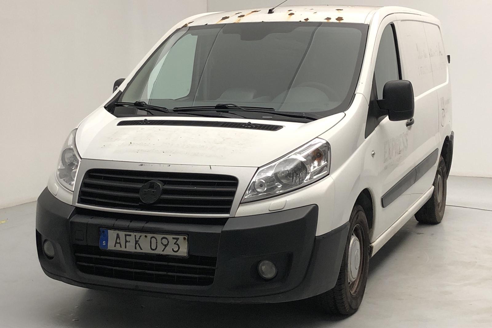 Fiat Scudo 1.6 MJT (90hk) - 349 180 km - Manual - white - 2014
