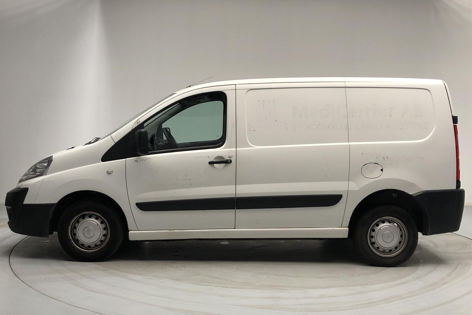Fiat Scudo 1.6 MJT (90hk) - 291 120 km - Manual - white - 2014
