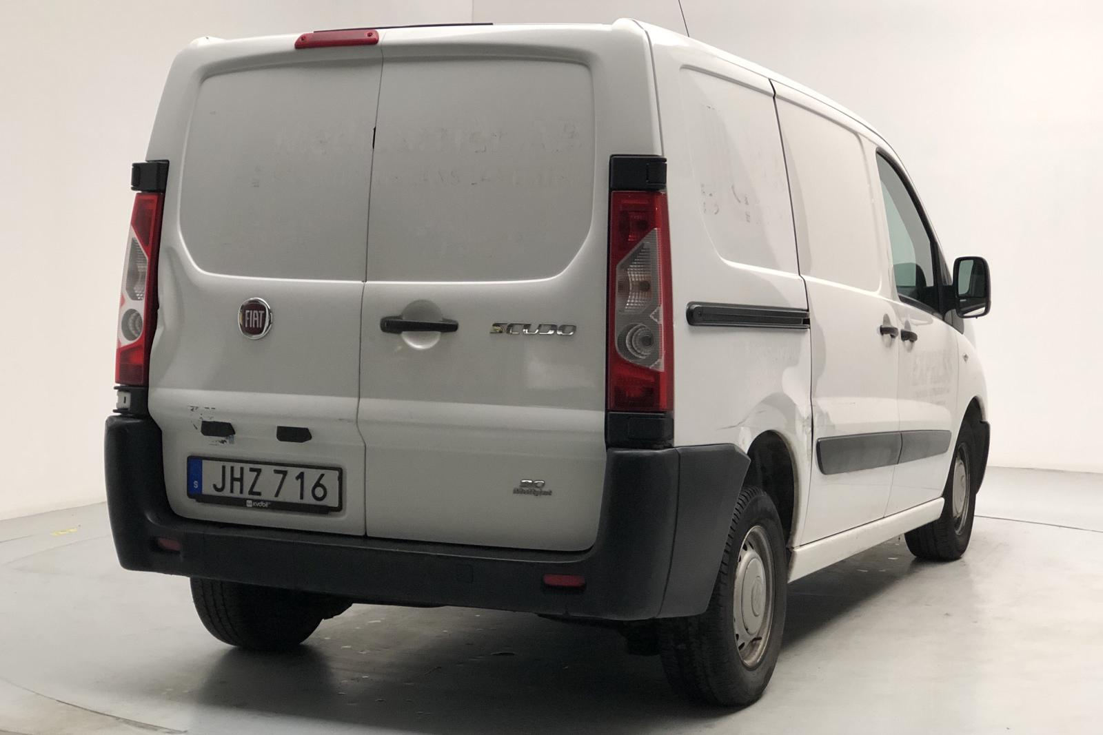 Fiat Scudo 1.6 MJT (90hk) - 175 130 km - Manual - white - 2014