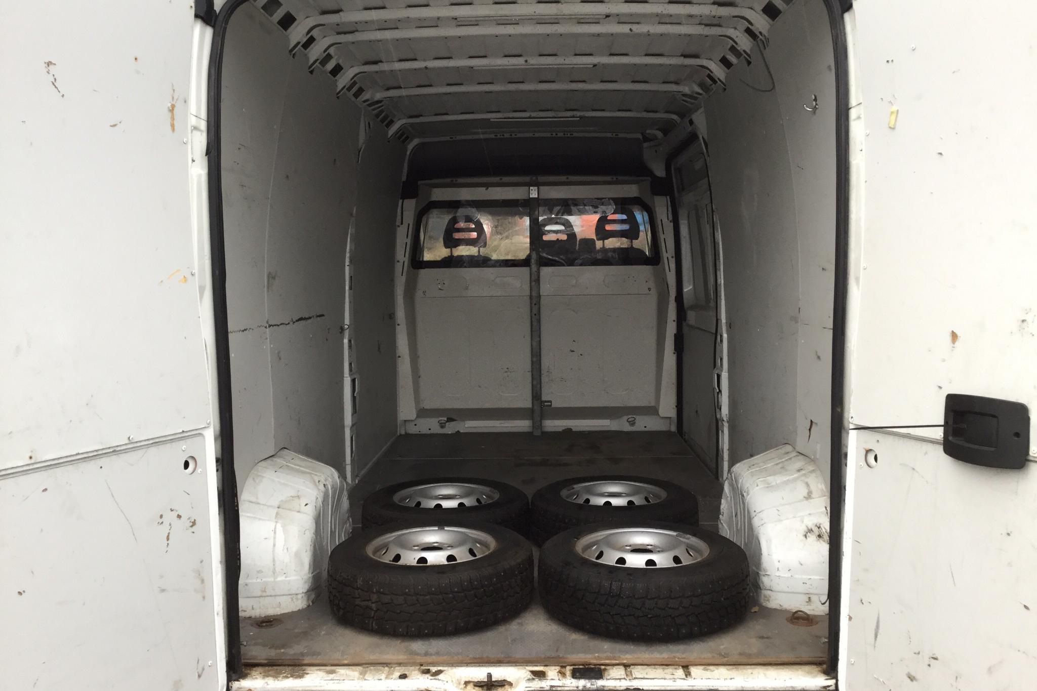 Peugeot Boxer 2.2 HDI Skåp (150hk) - 24 547 mil - Manuell - vit - 2012