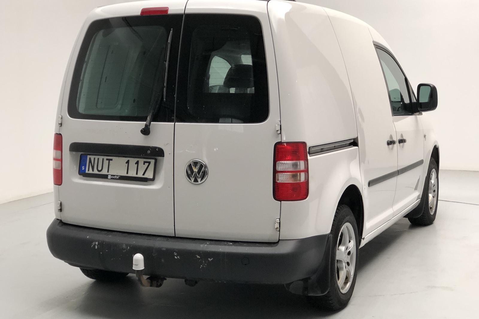 VW Caddy 1.6 TDI Skåp (75hk) - 124 610 km - Manual - white - 2013