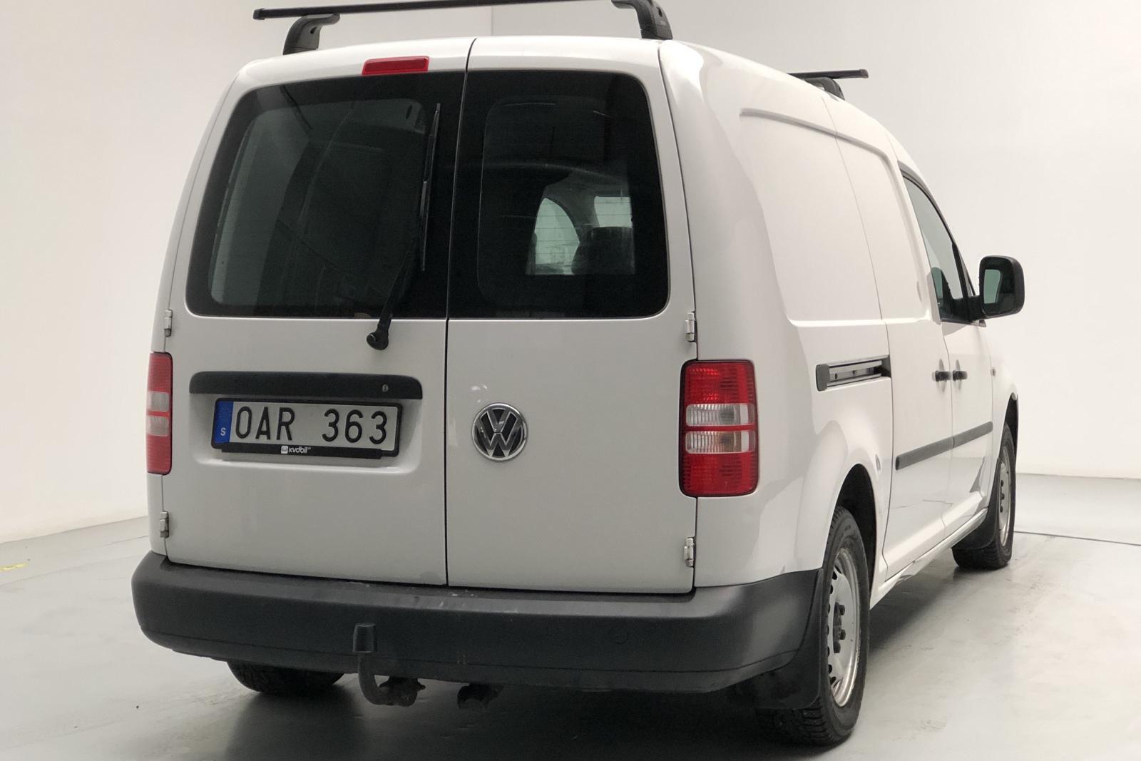VW Caddy 1.6 TDI Maxi Skåp (102hk) - 10 582 mil - Manuell - vit - 2014