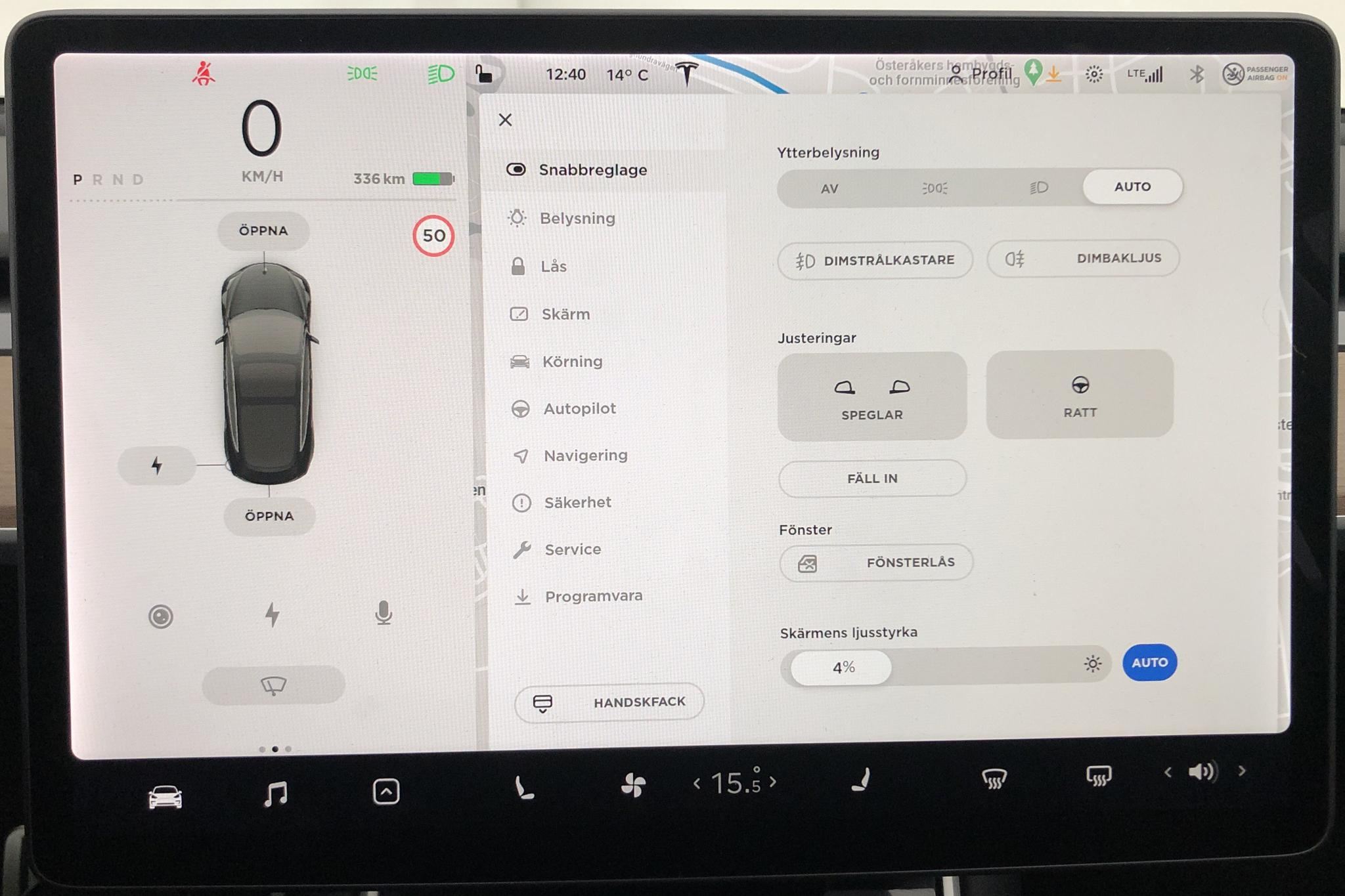 Tesla Model 3 Performance AWD - 1 457 mil - Automat - svart - 2019