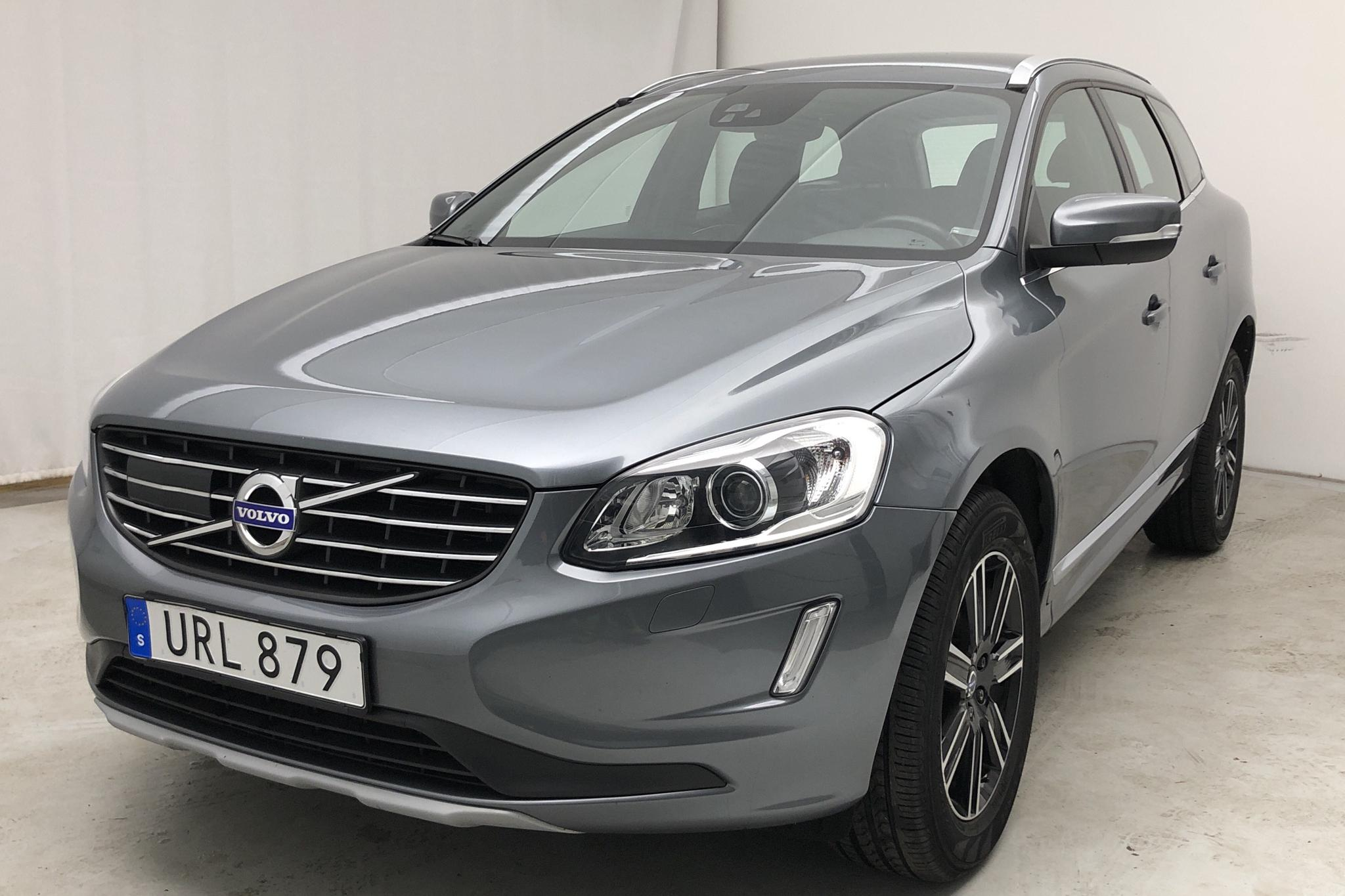 Volvo XC60 D4 2WD (190hk) - 48 520 km - Automatic - gray - 2017