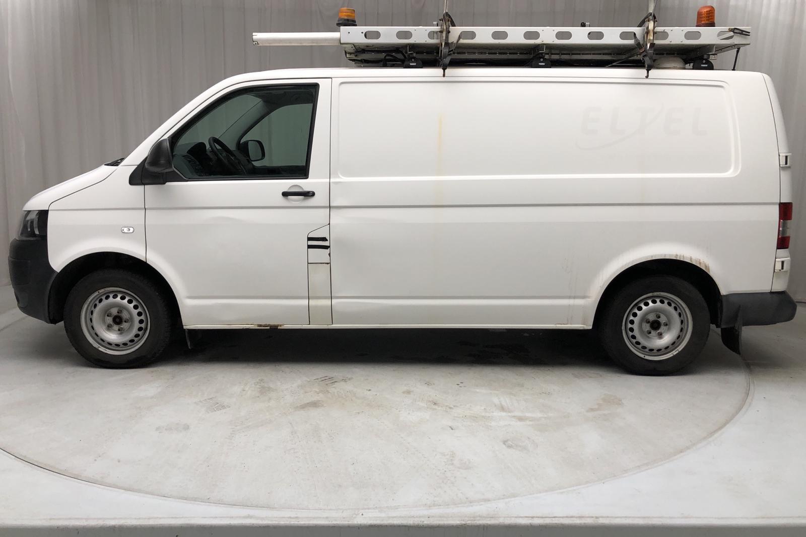 VW Transporter T5 2.0 TDI 4MOTION (140hk) - 20 398 mil - Manuell - vit - 2015