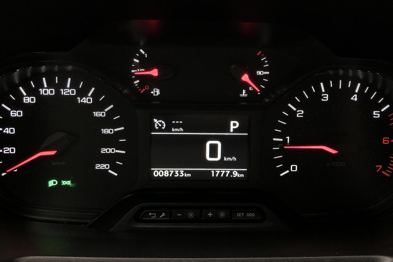 Peugeot Partner 1.5 HDI Skåp (130hk) - 873 mil - Automat - vit - 2020