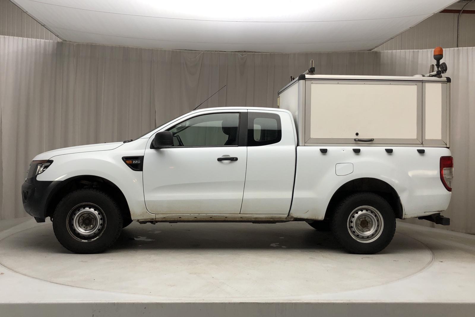 Ford Ranger 2.2 TDCi 4WD (150hk) - 18 759 mil - Manuell - vit - 2014