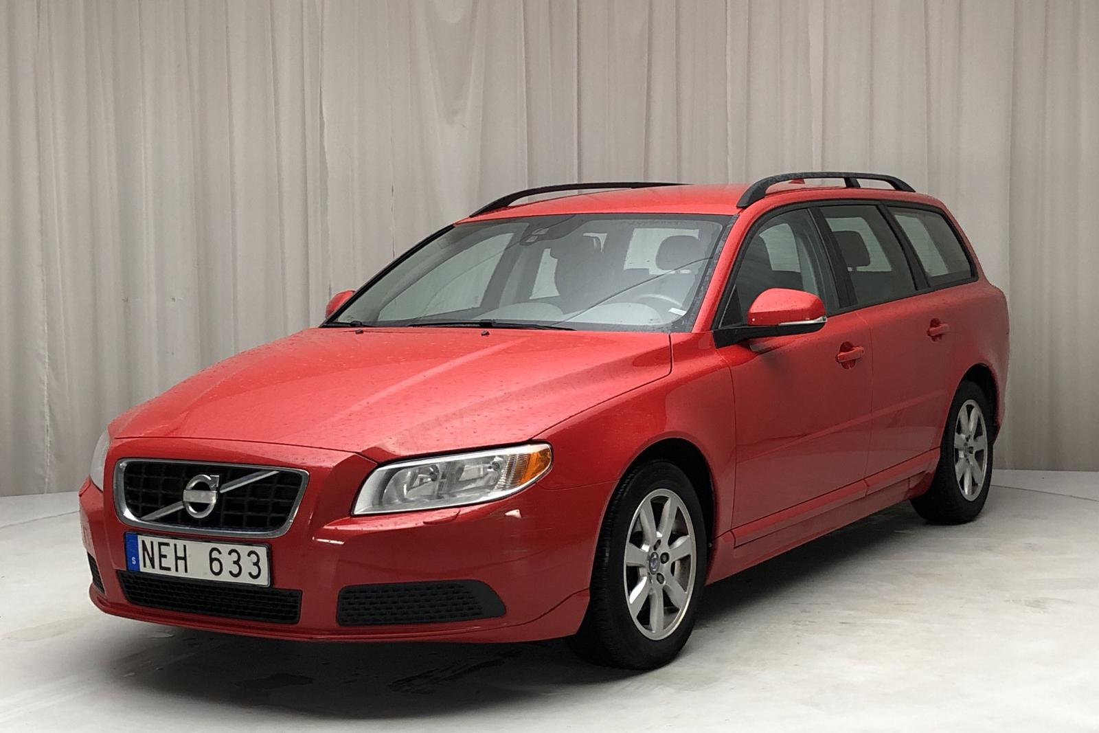 Volvo V70 II D2 (115hk) - 11 513 mil - Manuell - röd - 2013