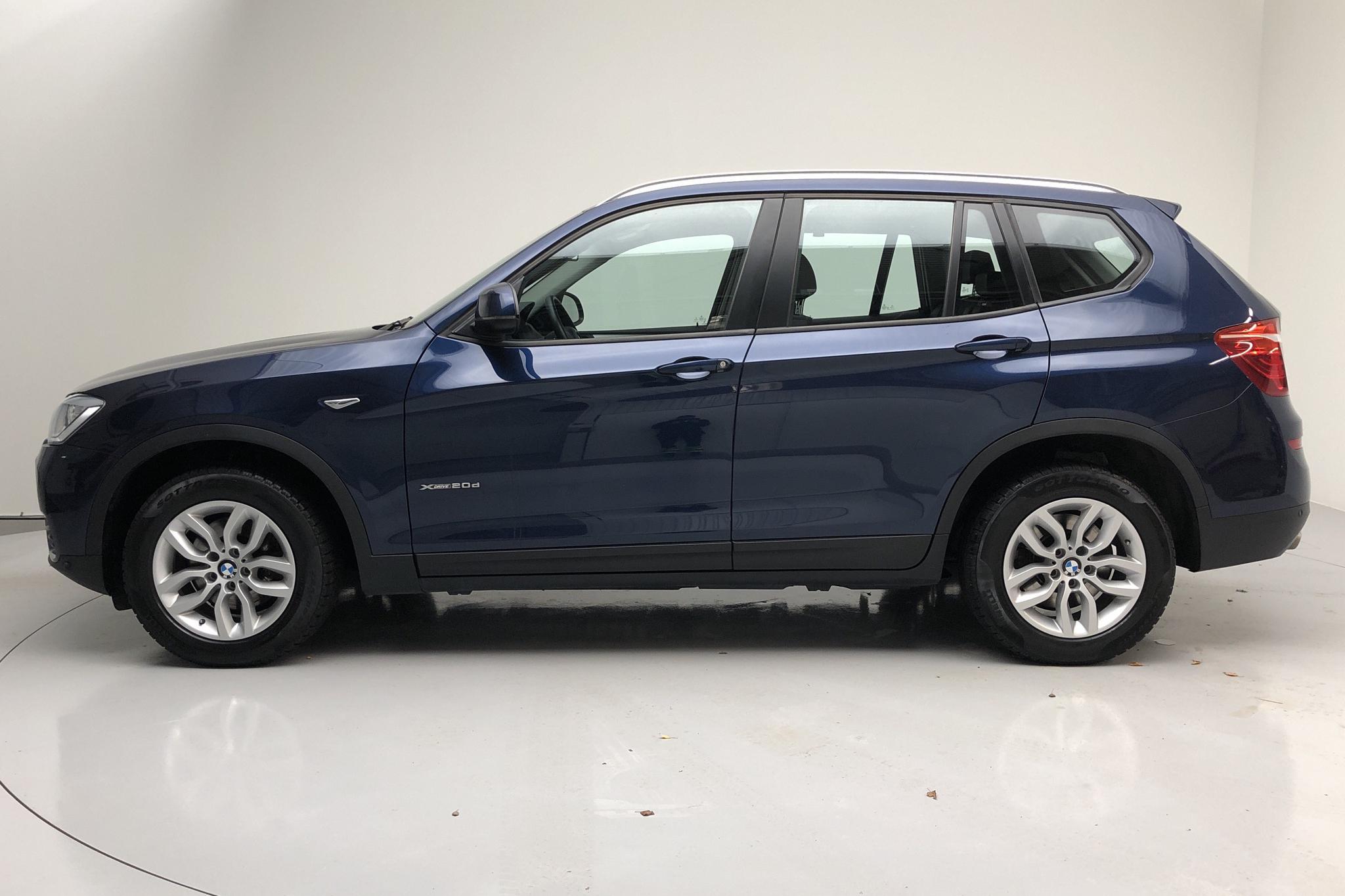 BMW X3 xDrive20d, F25 (190hk) - 57 670 km - Automatic - blue - 2016