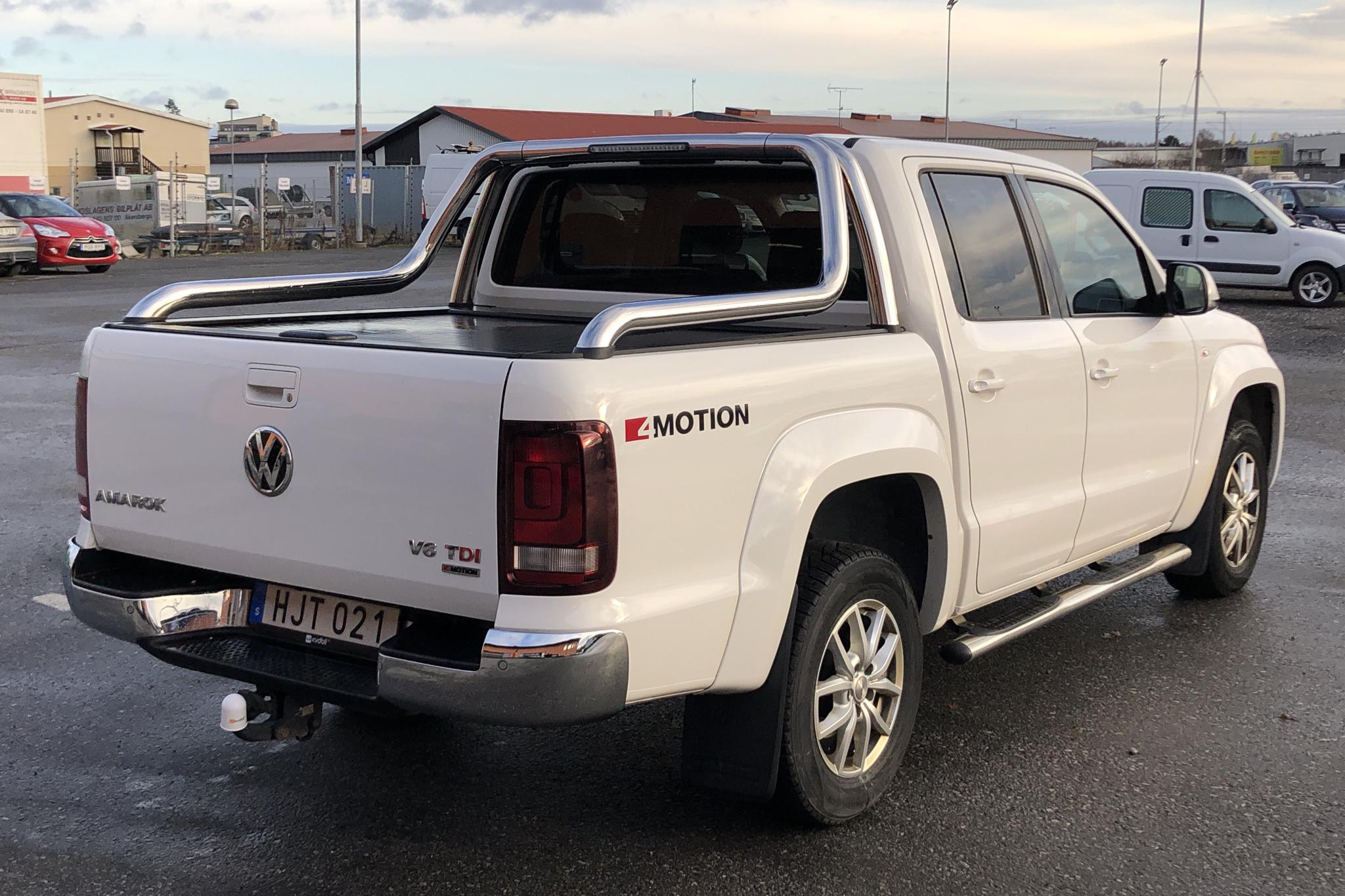 VW Amarok 3.0 TDI 4motion (224hk) - 150 300 km - Automatic - white - 2017