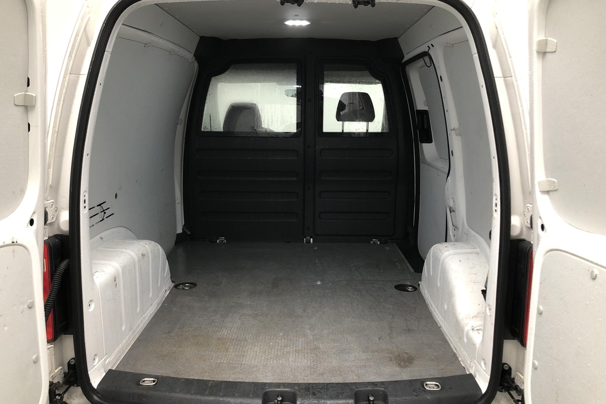 VW Caddy 2.0 TDI Skåp (75hk) - 2 197 mil - Manuell - vit - 2020