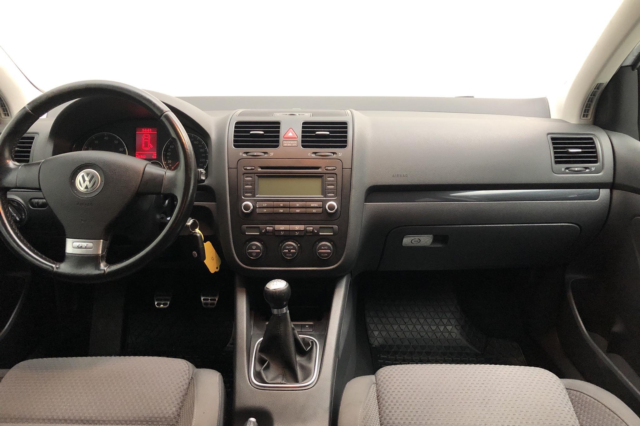 VW Golf A5 1.4 TSI GT Sport 5dr (170hk) - 12 876 mil - Manuell - silver - 2006