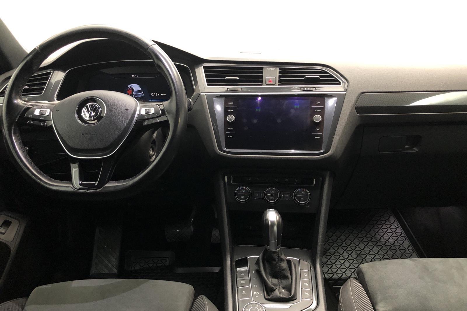 VW Tiguan 2.0 TDI 4MOTION (190hk) - 111 270 km - Automatic - black - 2018