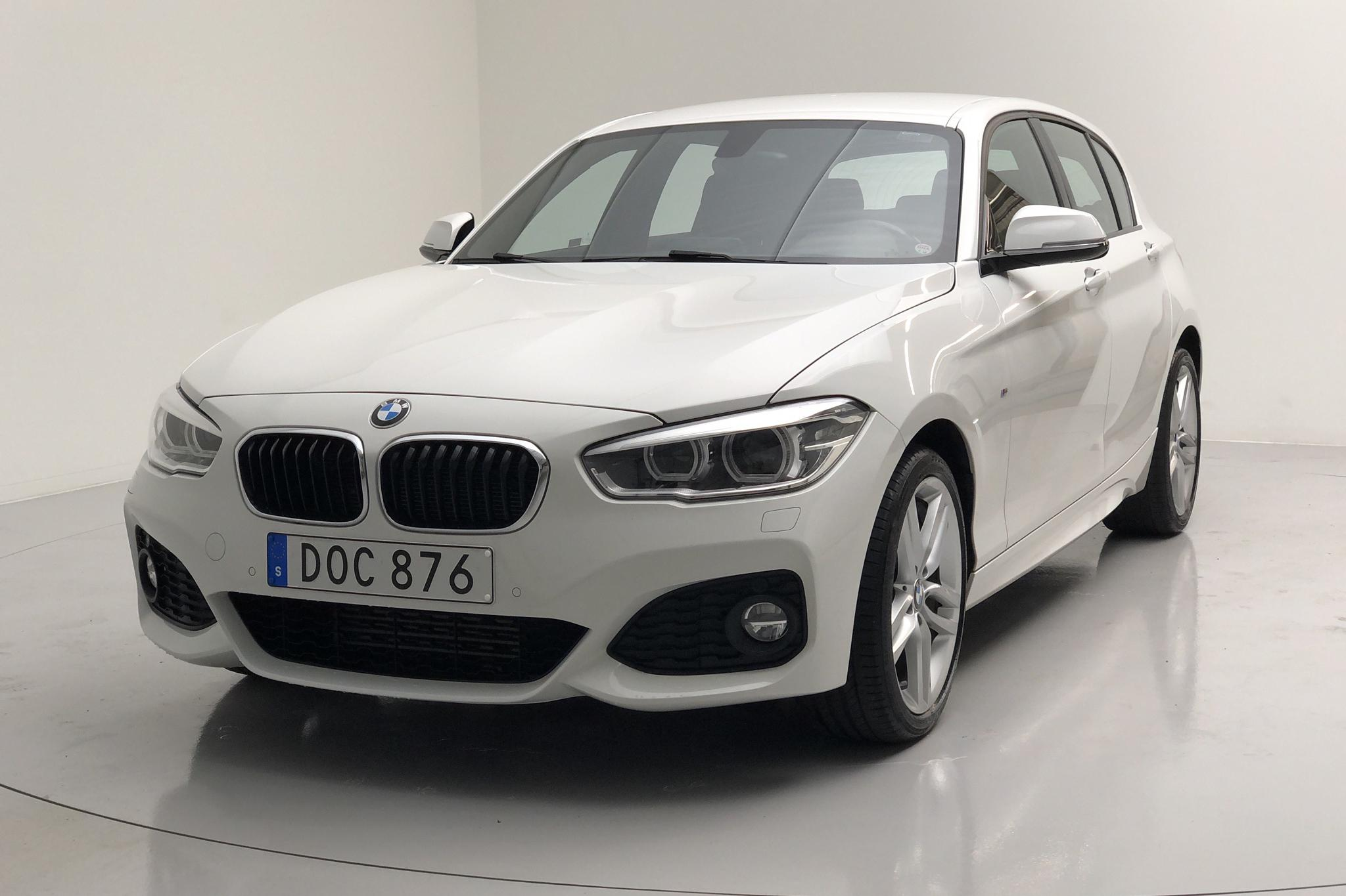 BMW 118d xDrive 5dr, F20 (150hk) - 79 800 km - Manual - white - 2017