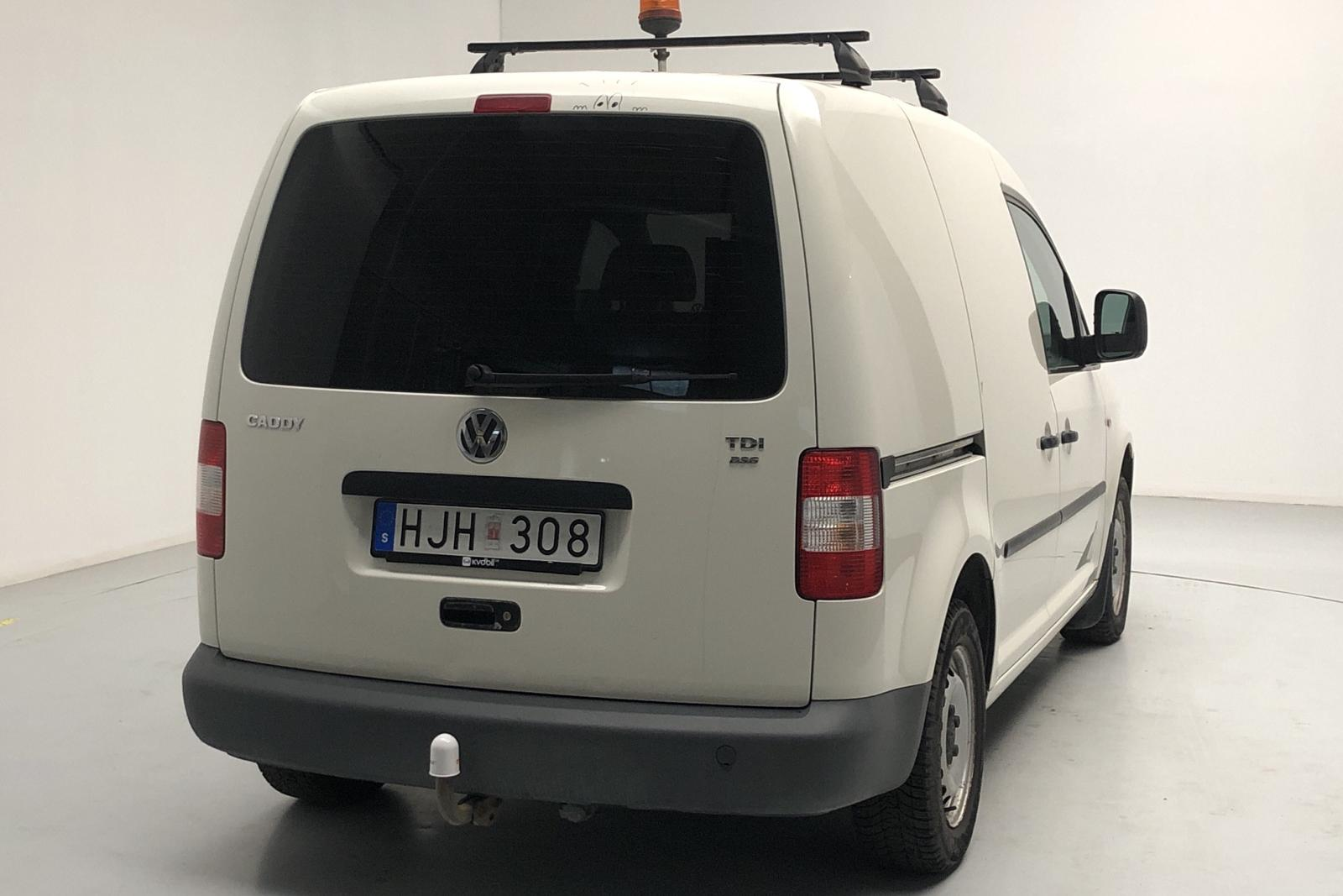 VW Caddy 1.9 TDI Skåp (105hk) - 154 000 km - Automatic - white - 2008
