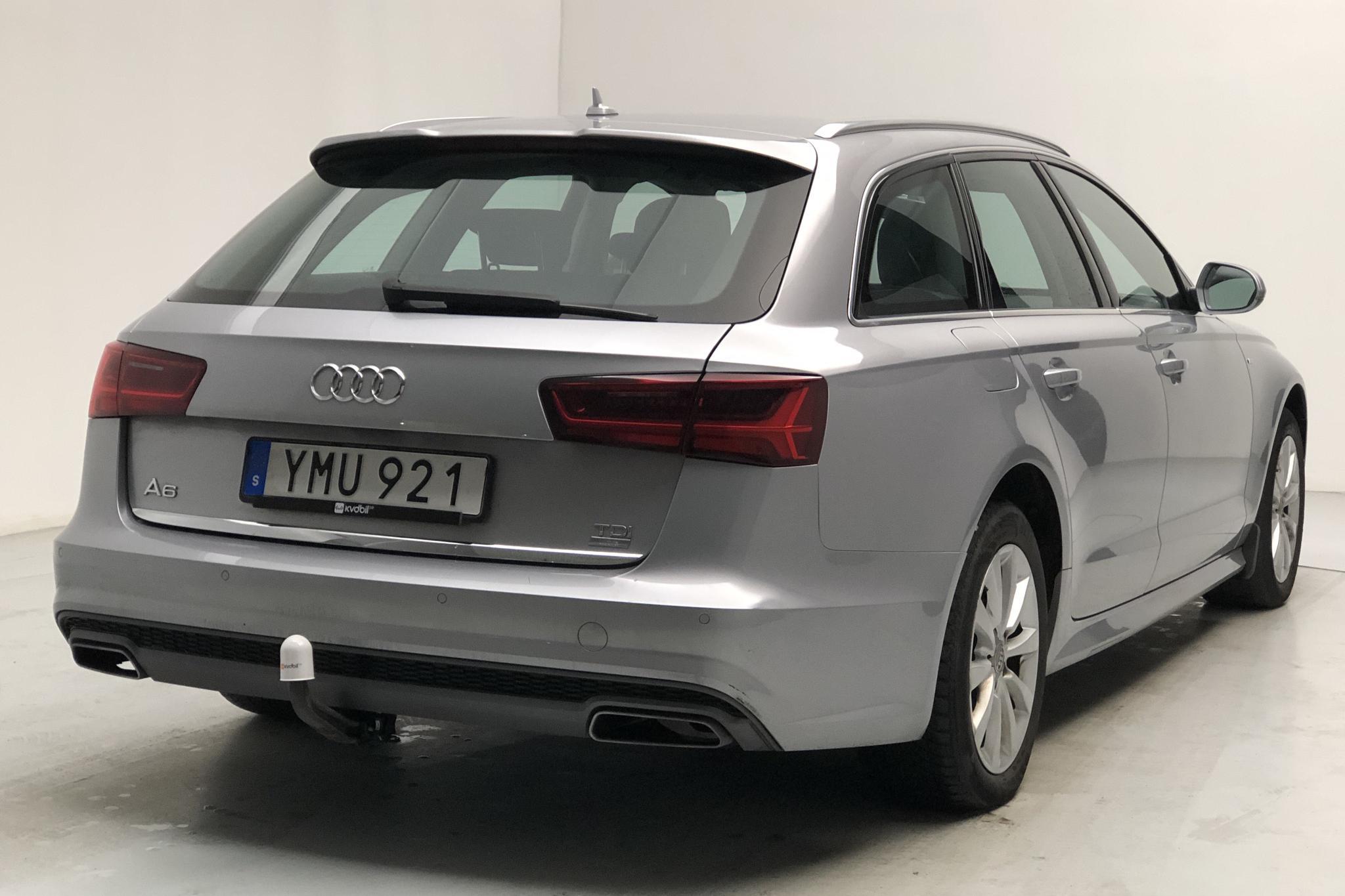 Audi A6 2.0 TDI Avant (190hk) - 8 232 mil - Automat - silver - 2018