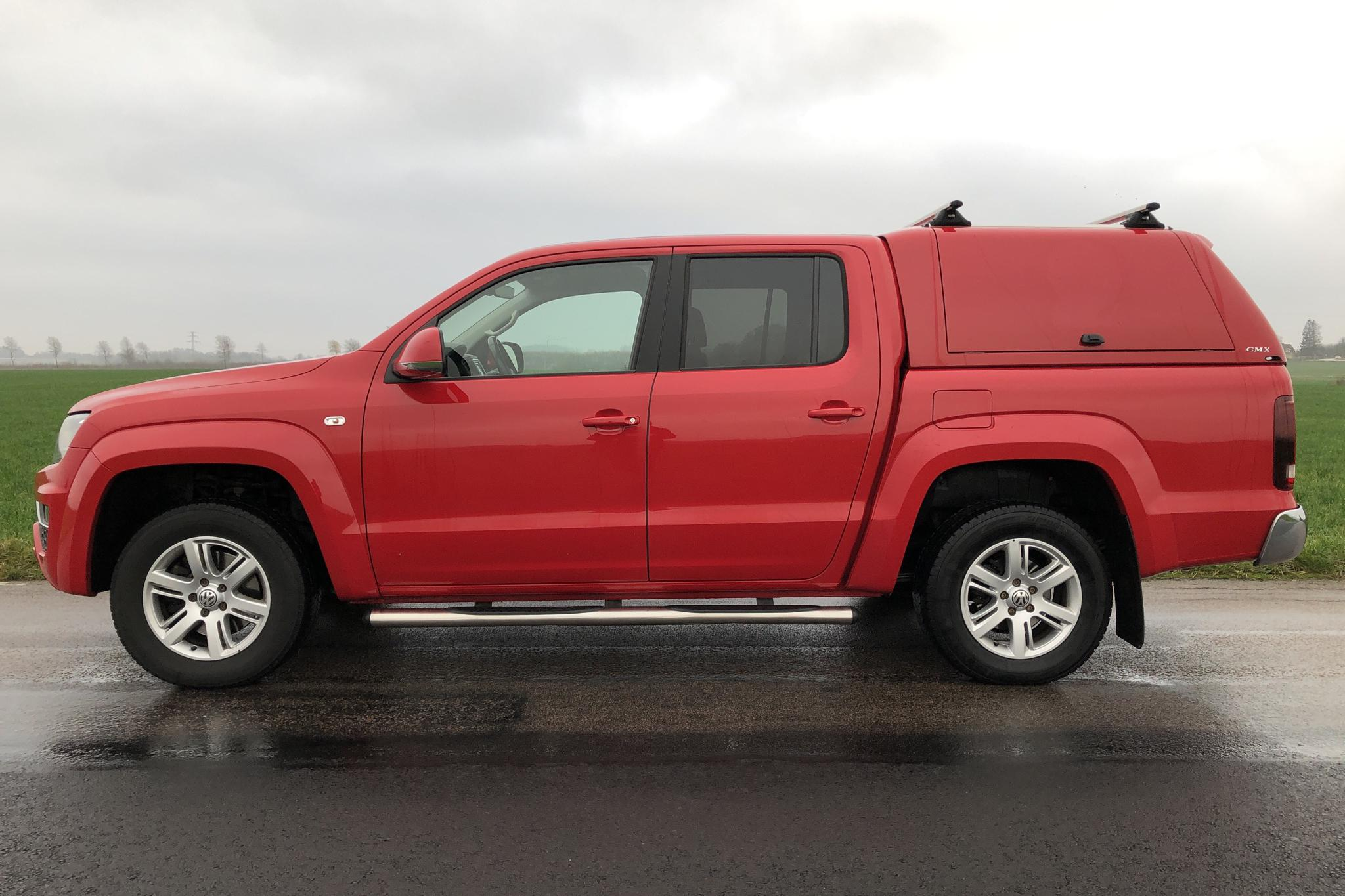 VW Amarok 3.0 TDI 4motion (224hk) - 115 770 km - Automatic - red - 2018